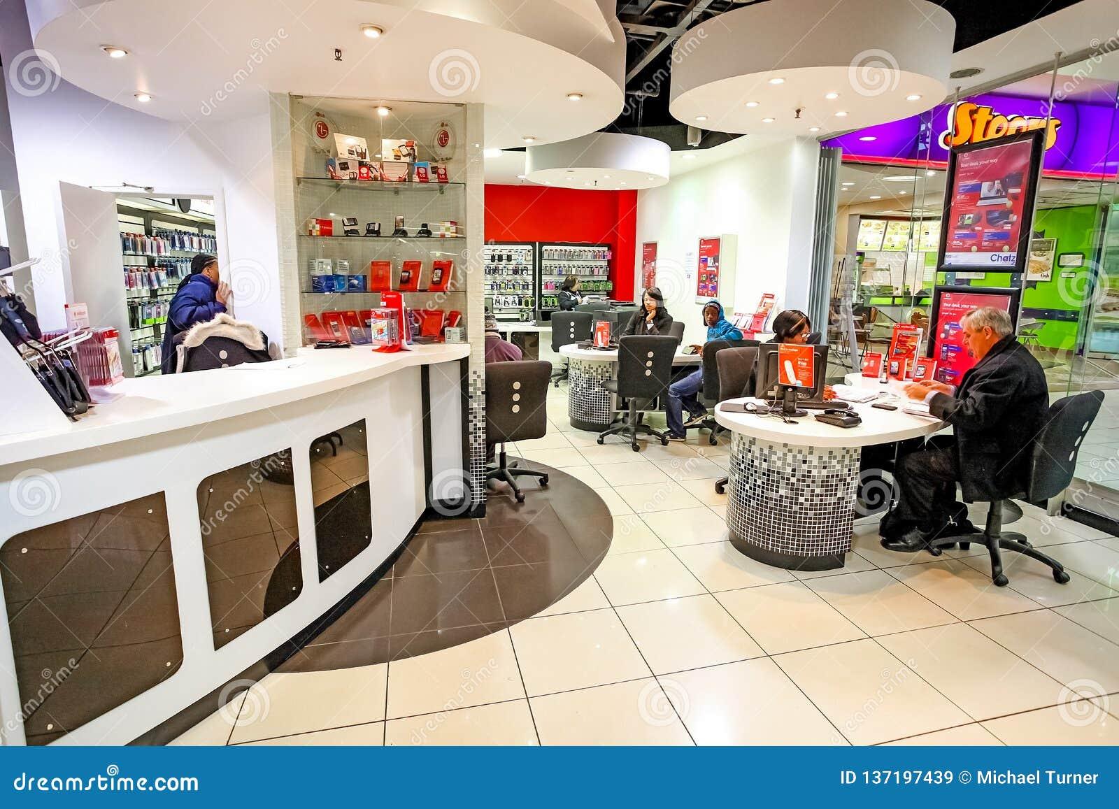 mobile cell phone store interior design
