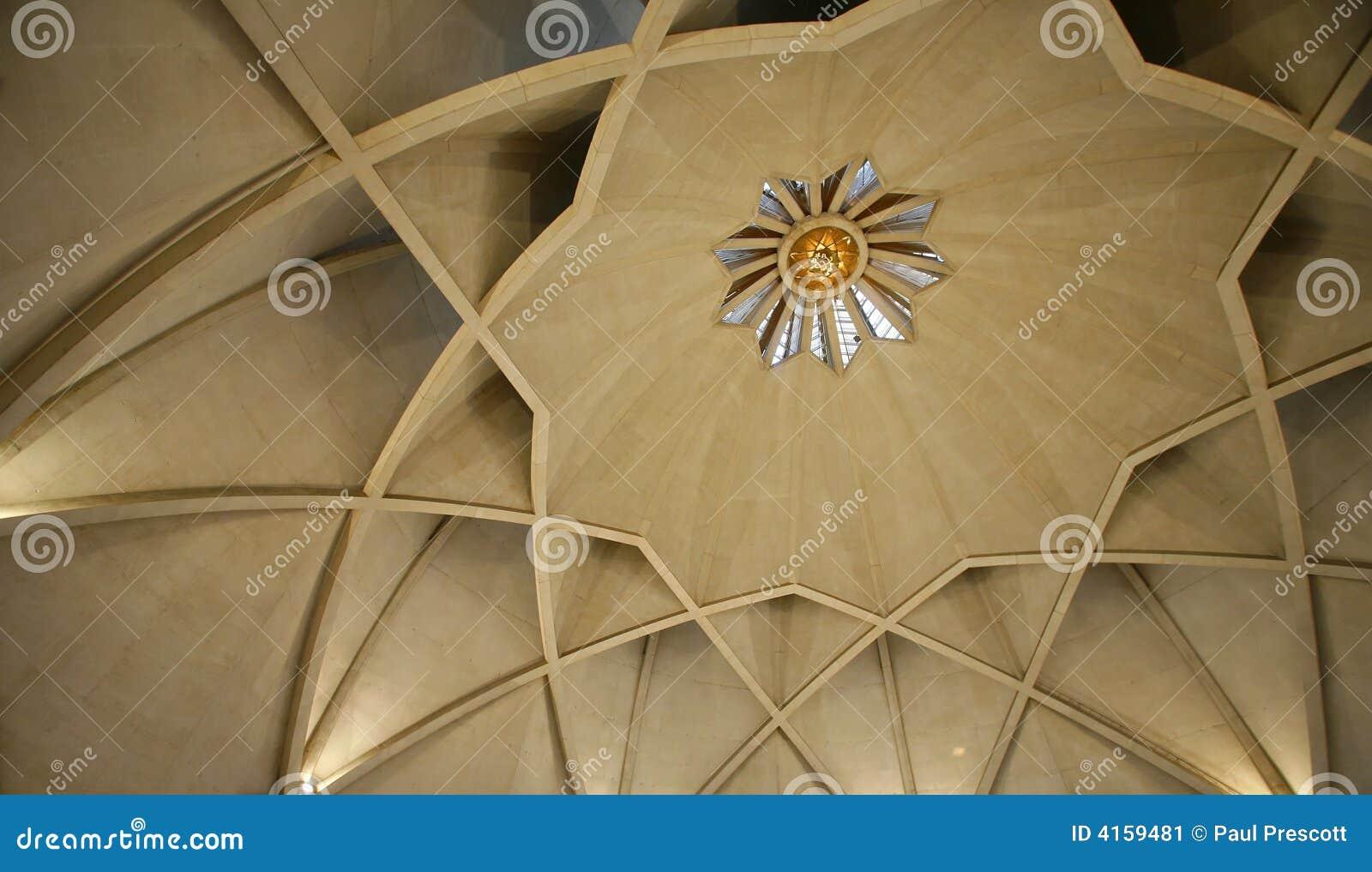 Inside The Lotus Temple Delhi Stock Image Image Of