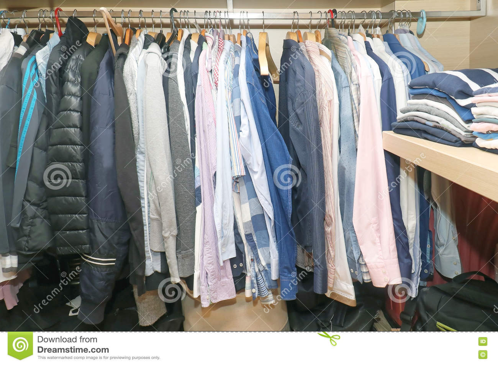 Inside Male Closet