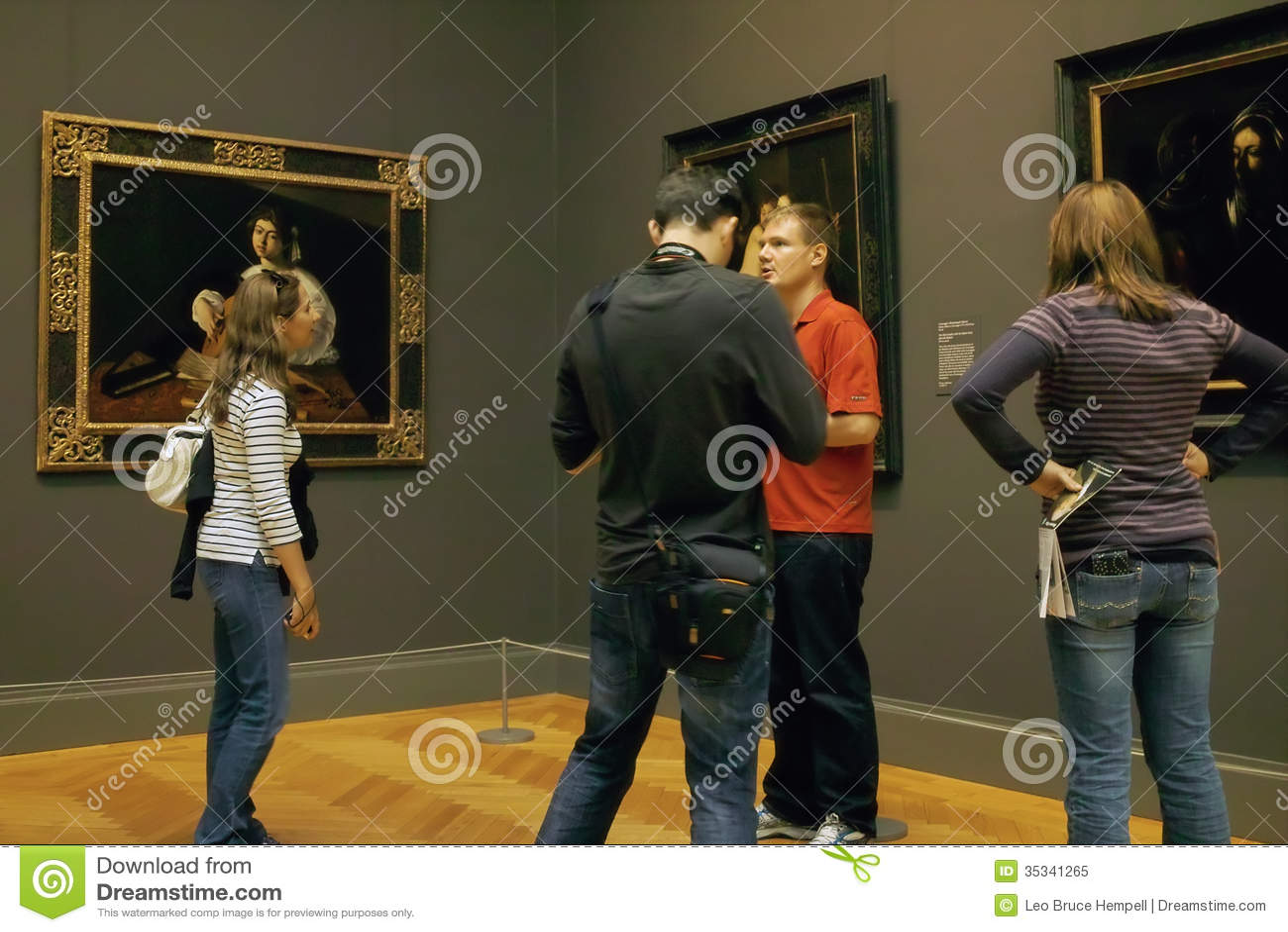 Inside The MET Art Gallery, New York City USA Editorial Image   Image  35341265