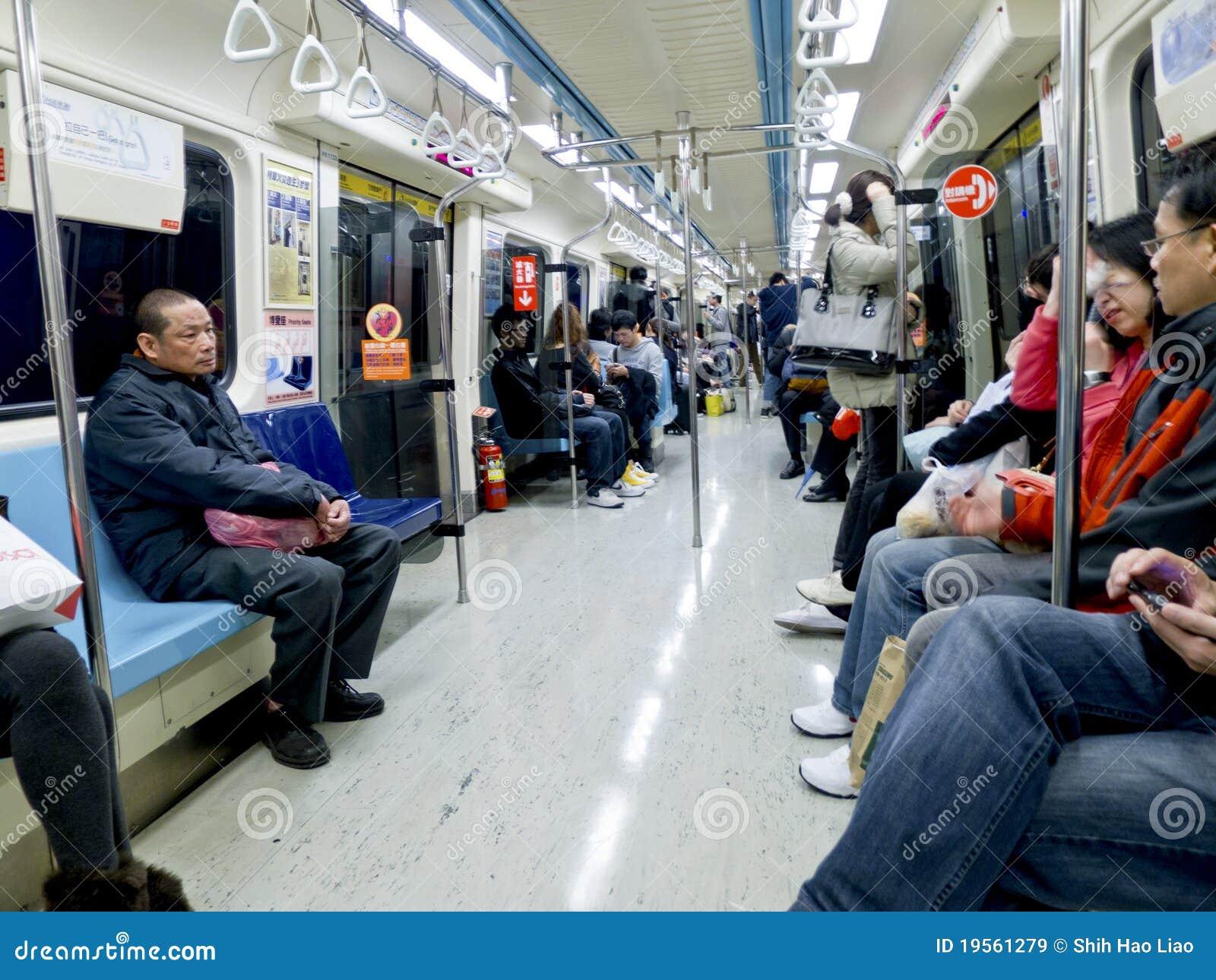Inside metro carriage on february 6 in taipei editorial stock image image 19561279 - Carrage metro ...