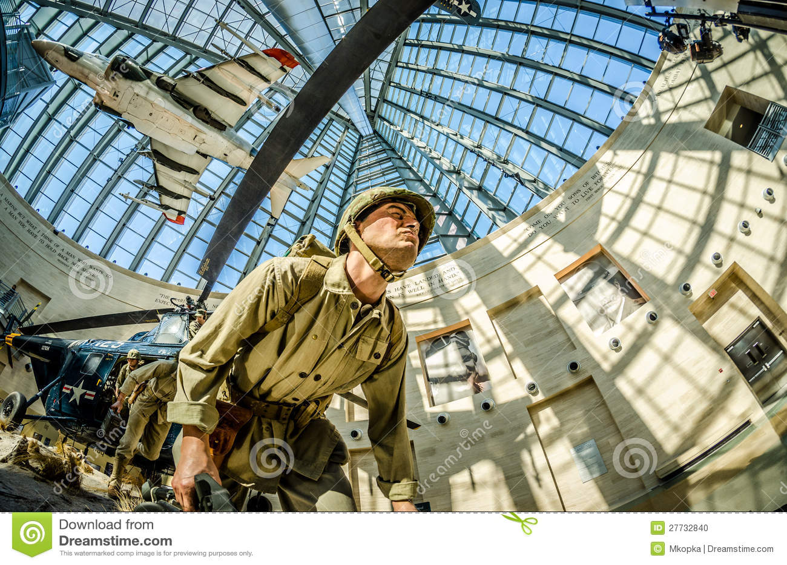 National USMC Museum Editorial Photo - Image: 11844586