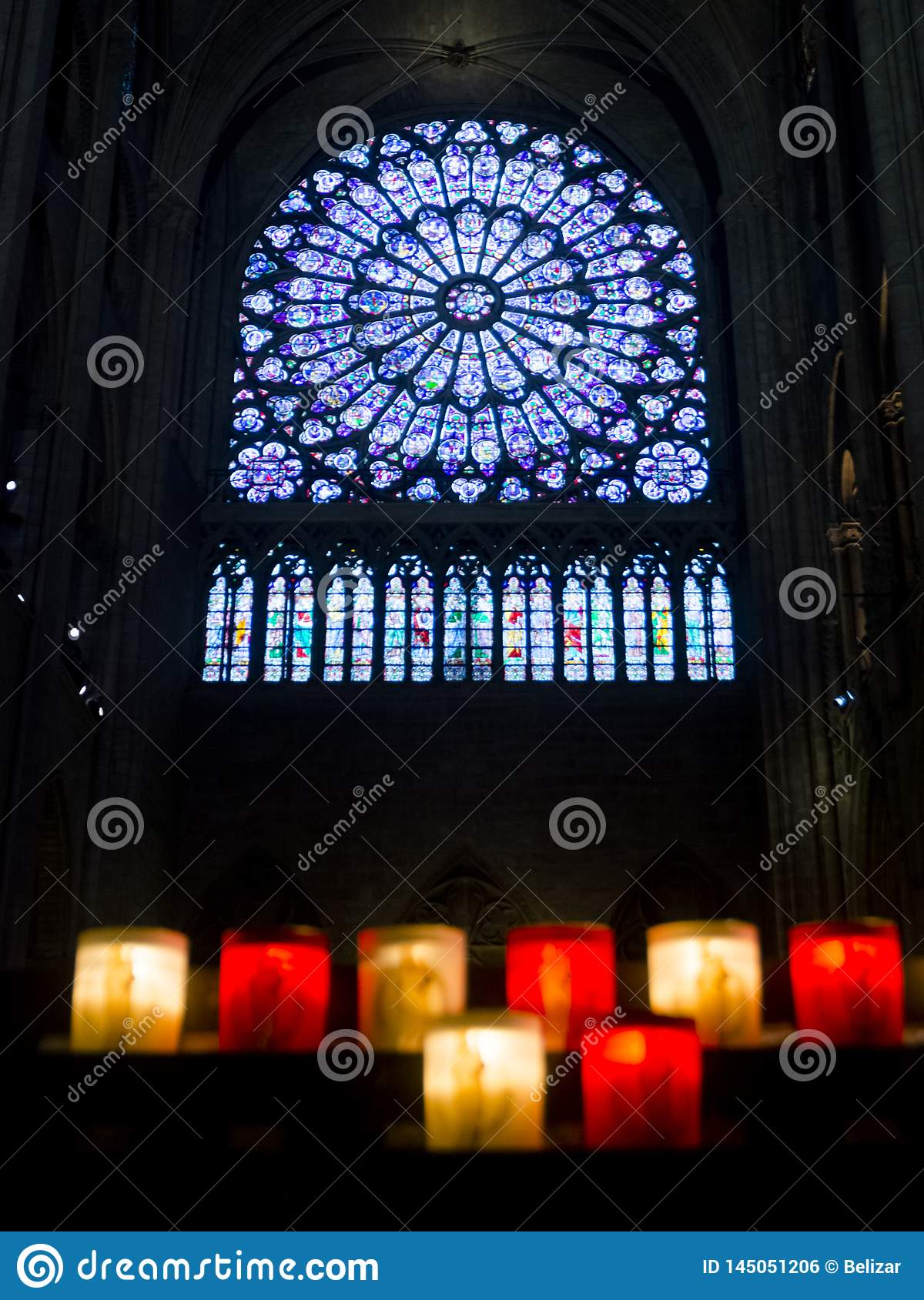 Window of Notre Dame