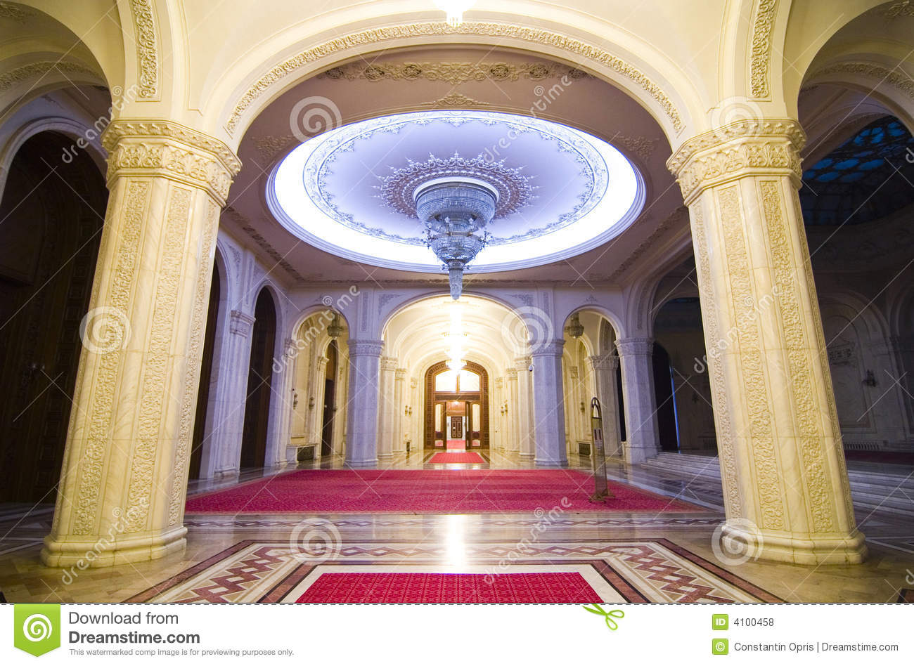 Inside A Palace Royalty Free Stock Photos Image 4100458
