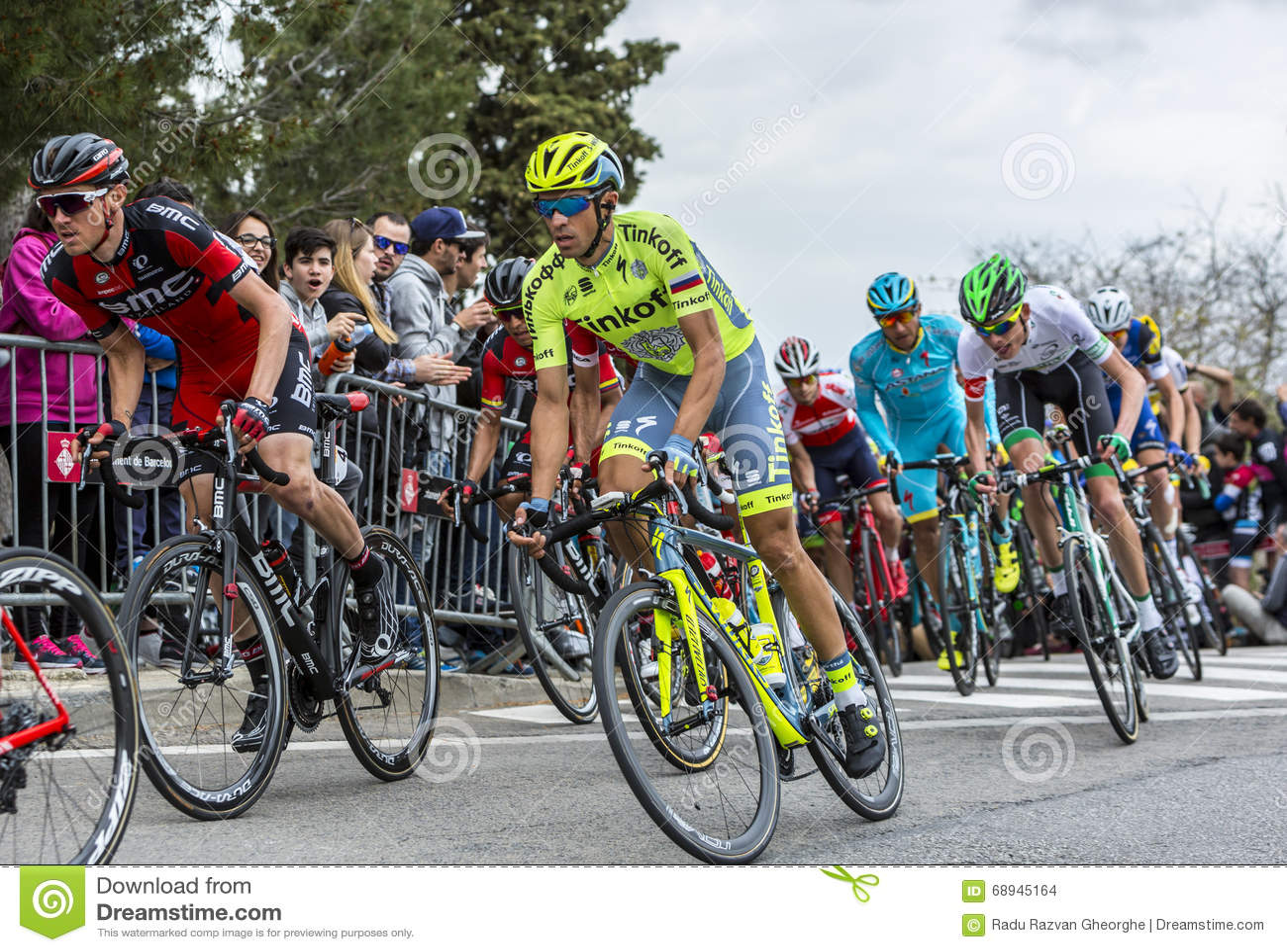 661966b91 Inside The Peloton Tour De Catalunya 2016 Editorial Stock Image Image   68945164