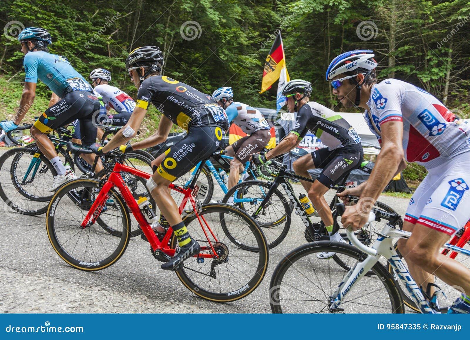 b0f6482f5 Inside The Peloton Tour De France 2017 Editorial Image Image  95847335