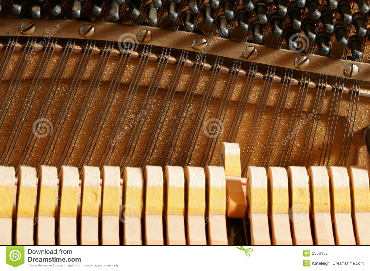 Inside A Piano - Strings Royalty Free Stock Photography - Image ...