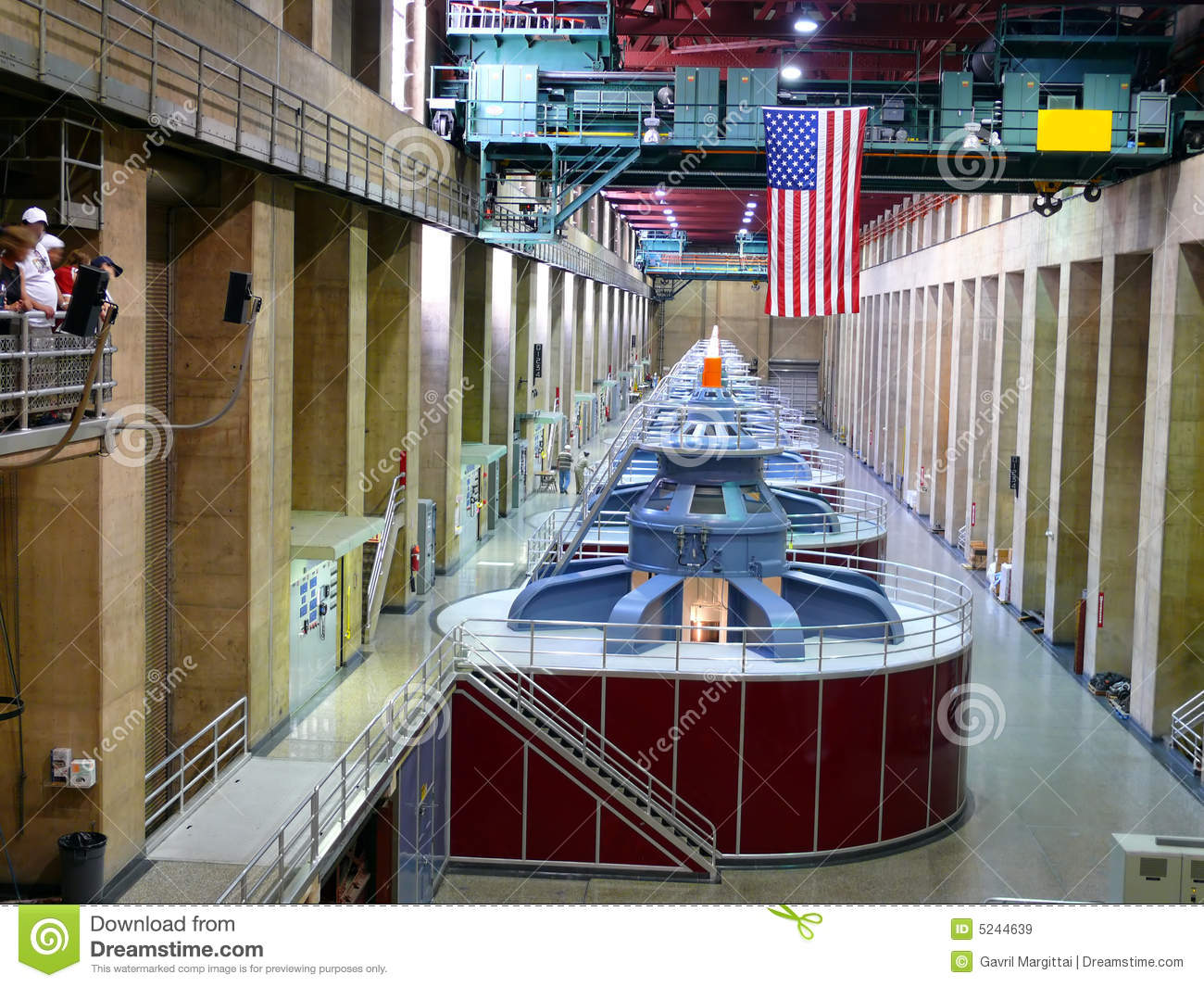 Inside a power station royalty free stock images image for Inside l interieur