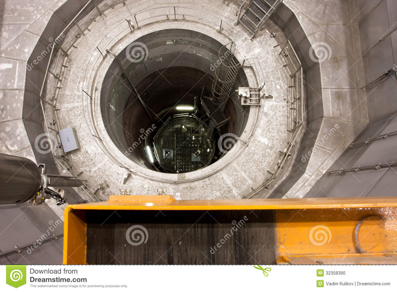 Reactor Pressure Vessel Of Nuclear Station Editorial Image