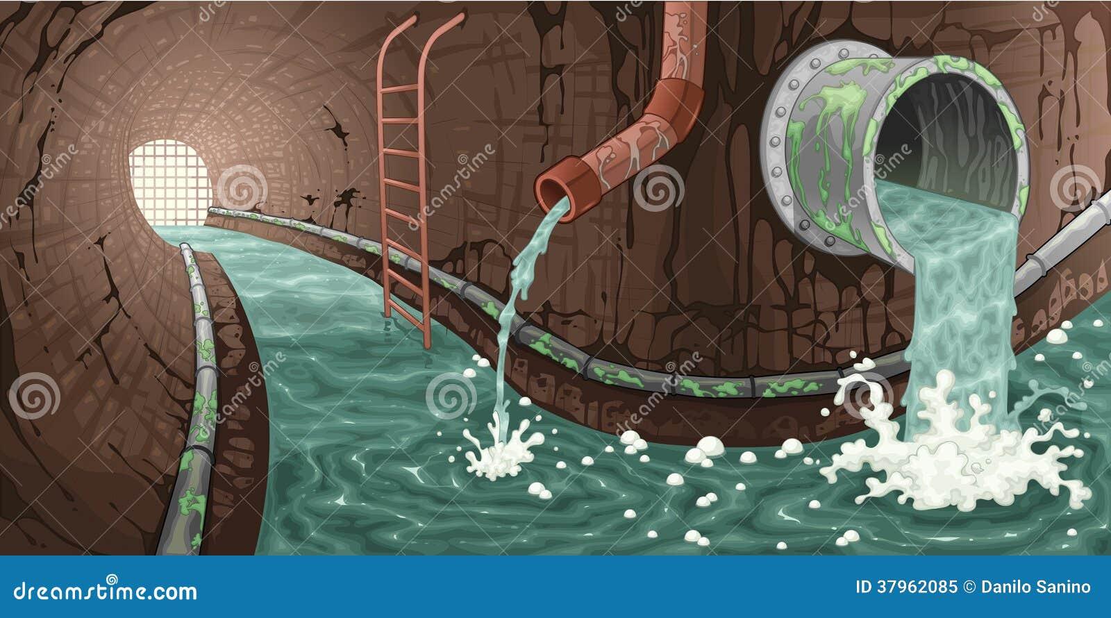 Рисовать канализацию