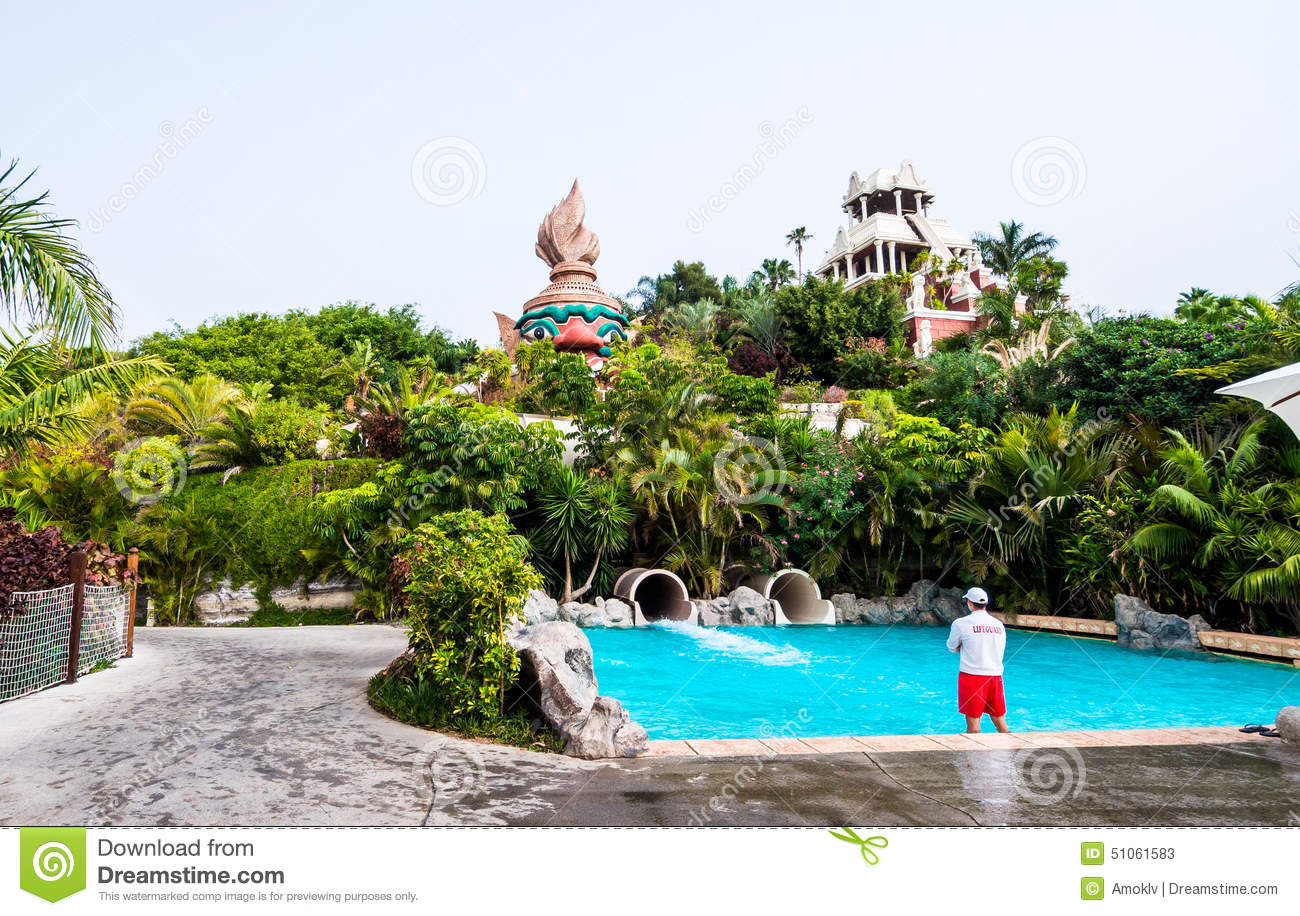 inside of siam park tenerife editorial stock photo image 51061583