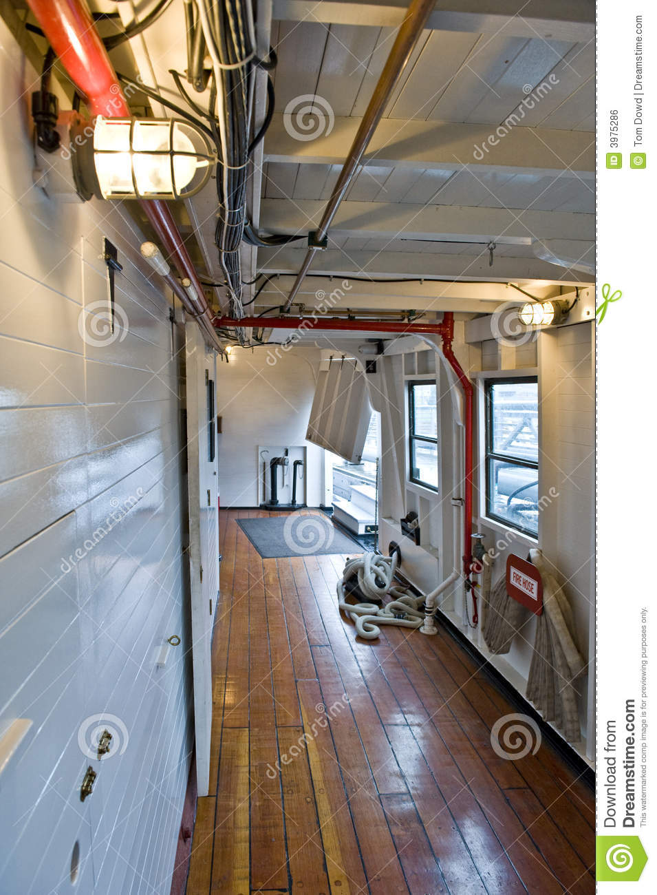 Inside Of Steam Ship Royalty Free Stock Image Image 3975286