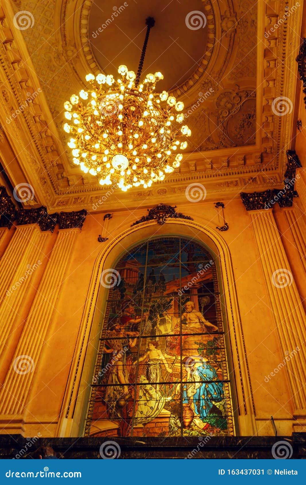 Inside Teatro Colon in Buenos Aires