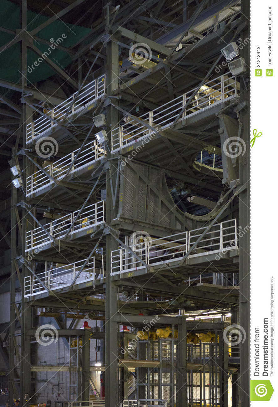 Inside The VAB 03 Editorial Stock Photo - Image: 31213643