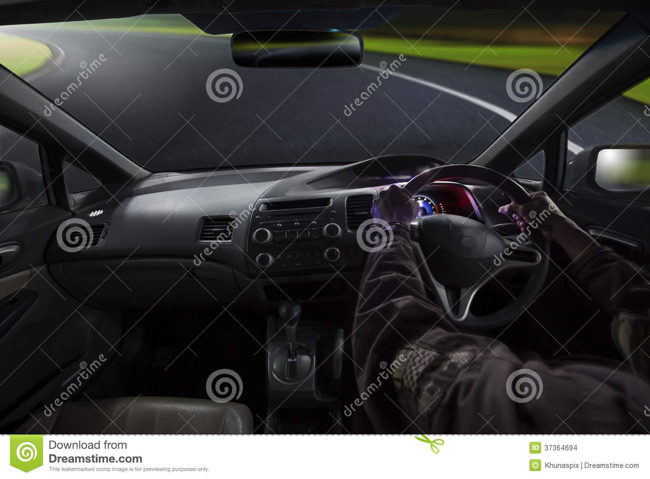 driving a car view inside gas petrol royalty free stock image 12122482. Black Bedroom Furniture Sets. Home Design Ideas