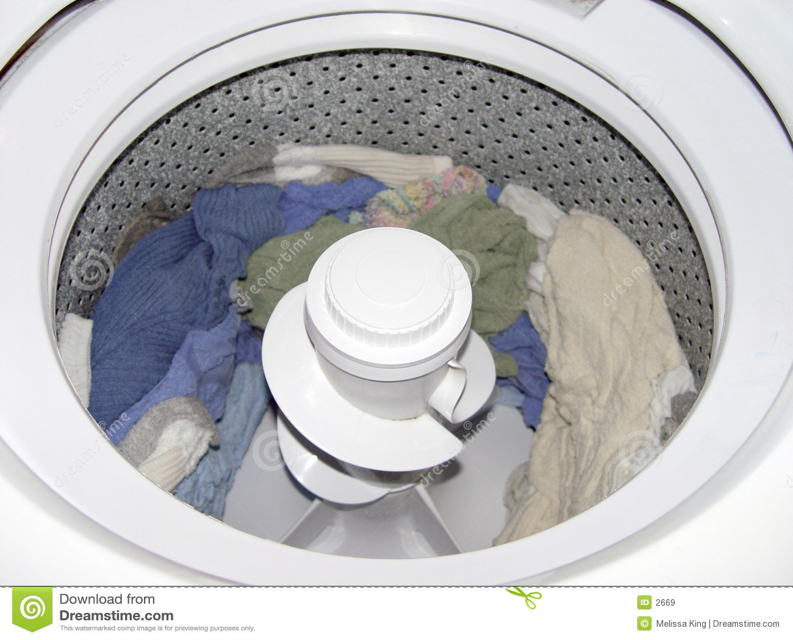Inside Washer Royalty Free Stock Images Image 2669