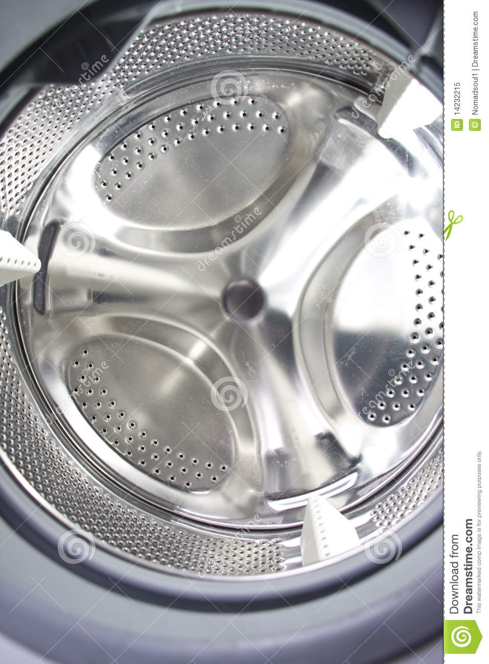 Washing Machine Inside ~ Inside the washing machine stock image of house