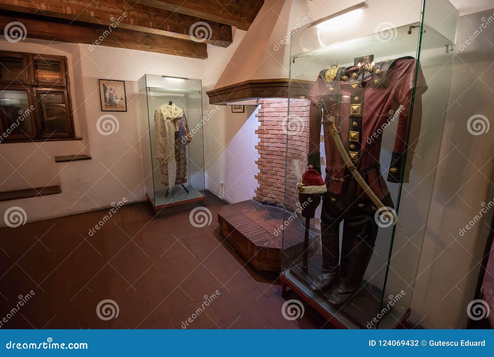 Inside widok otręby kasztel od Rumunia, także znać jako Dracula kasztel
