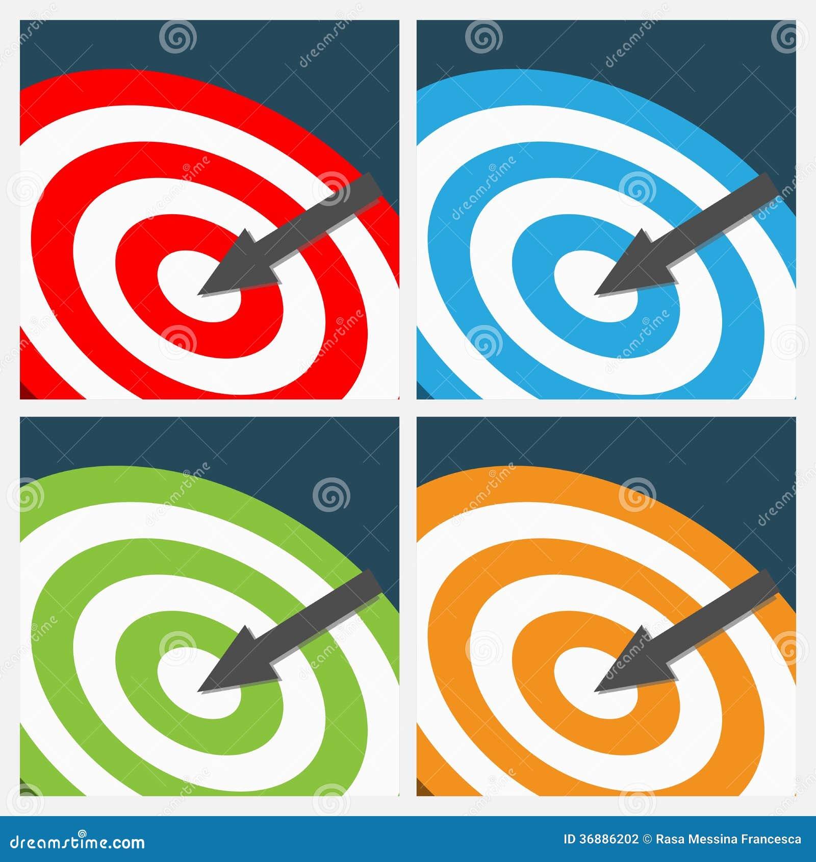 Download Insieme Degli Ambiti Di Provenienza Dell'obiettivo Illustrazione Vettoriale - Illustrazione di parole, disegno: 36886202