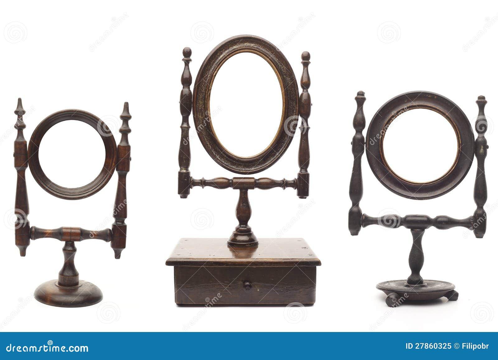 Insieme Degli Specchi Antichi Immagine Stock - Immagine: 27860325