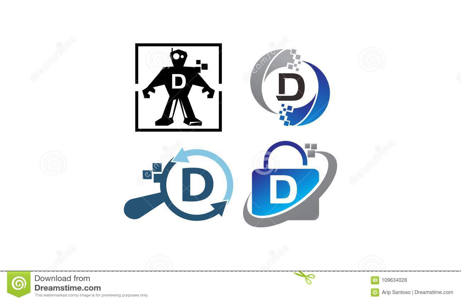 Insieme del modello di applicazione D di tecnologia