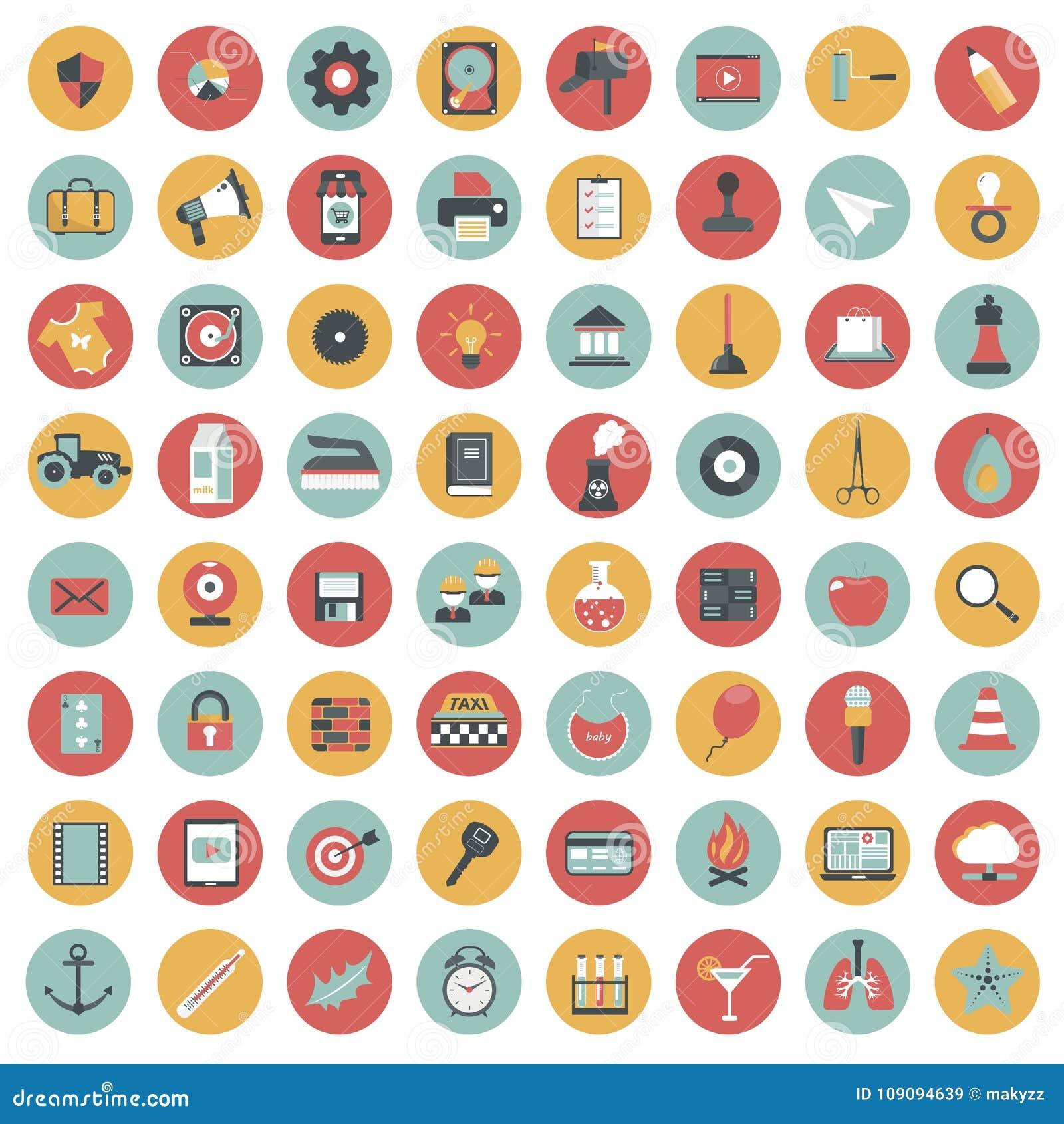 insieme dell u0026 39 icona di app icone per i siti web e le