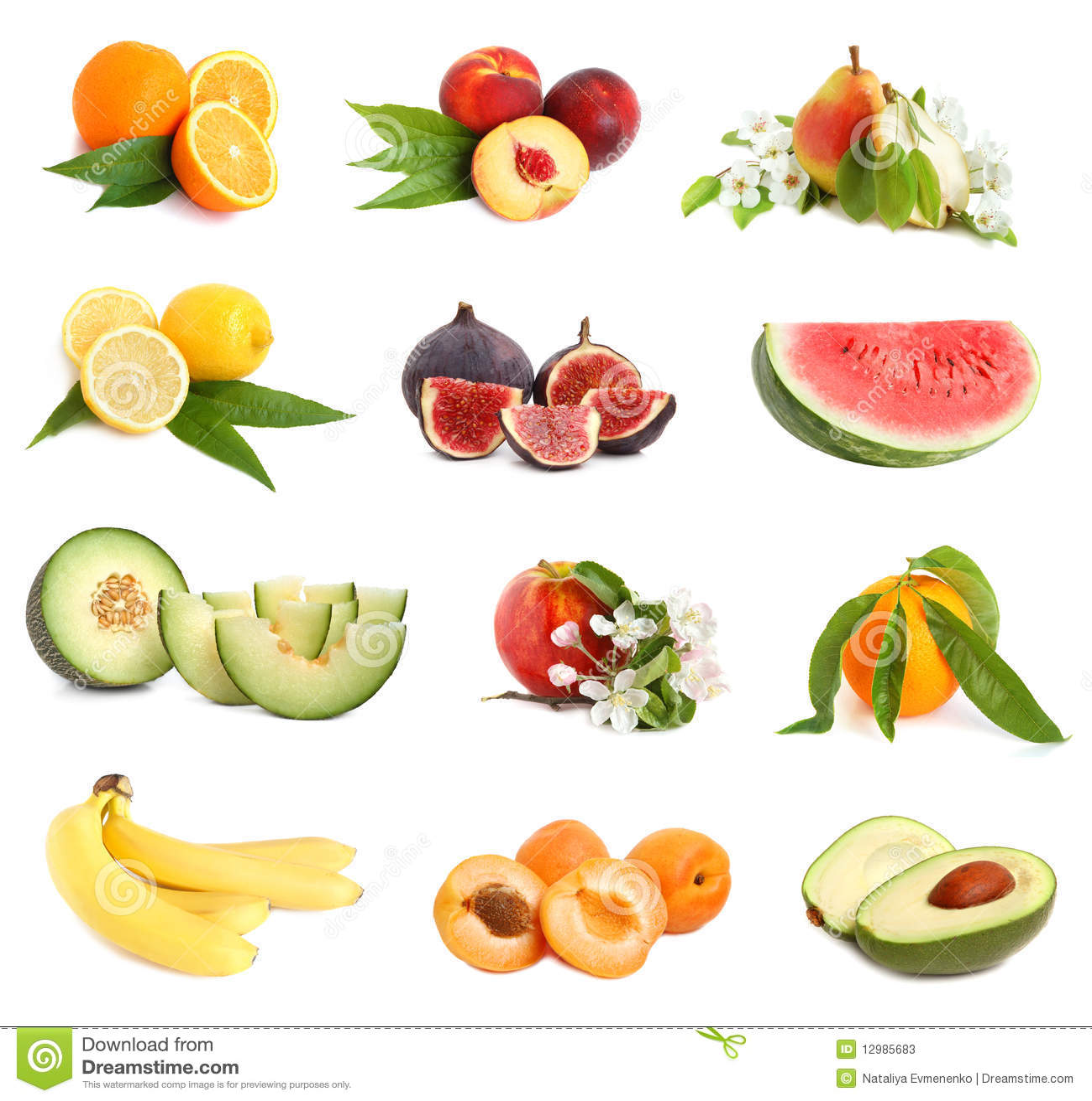 Insieme della frutta di freschezza