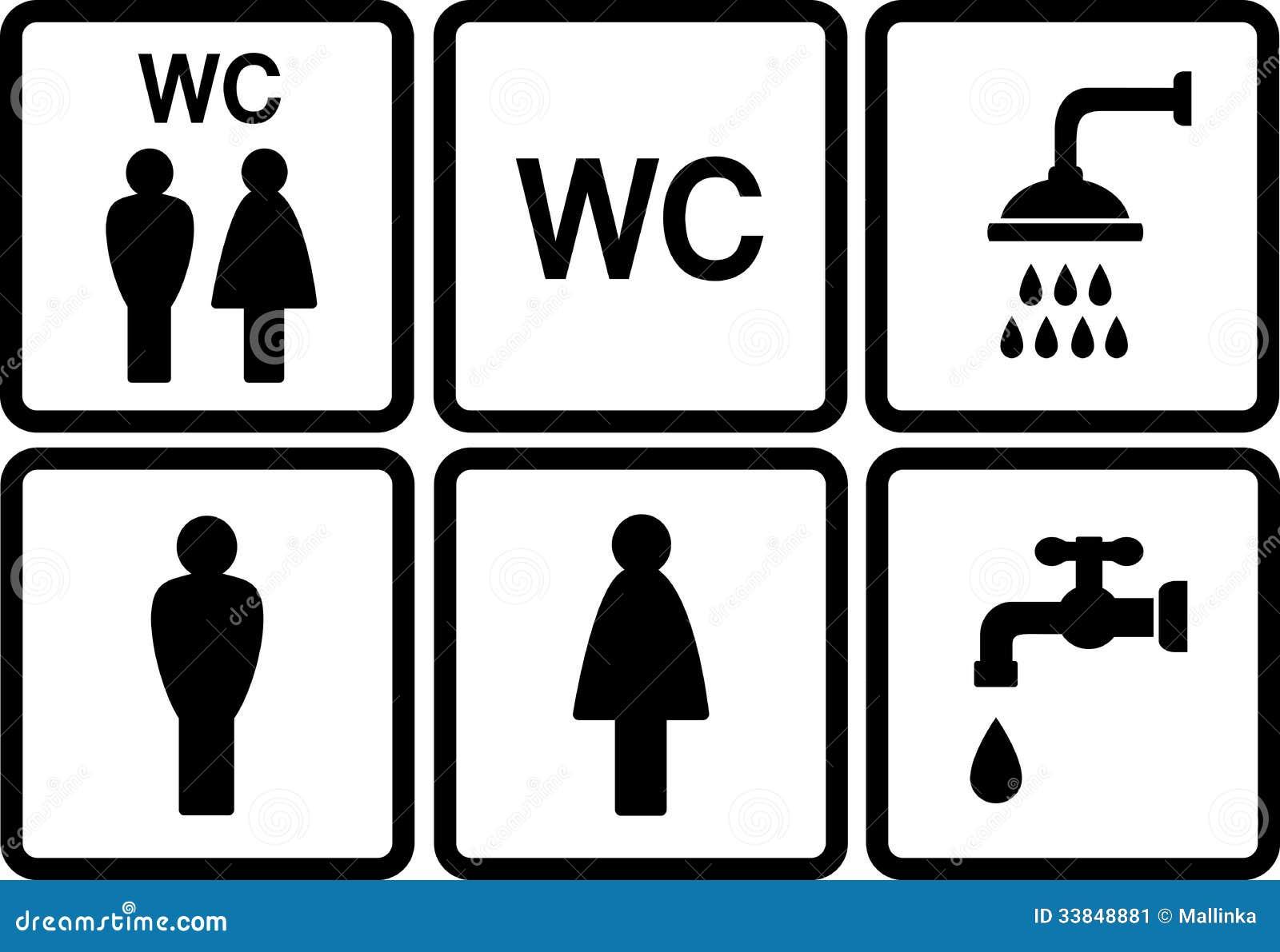 clipart wc uomini - photo #46
