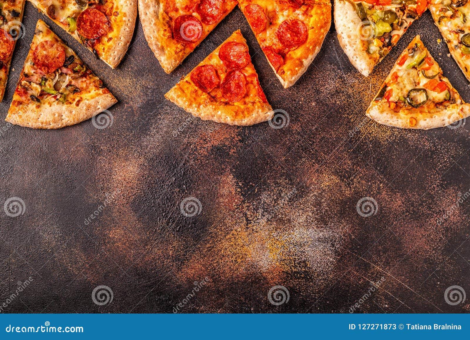 Insieme delle pizze differenti