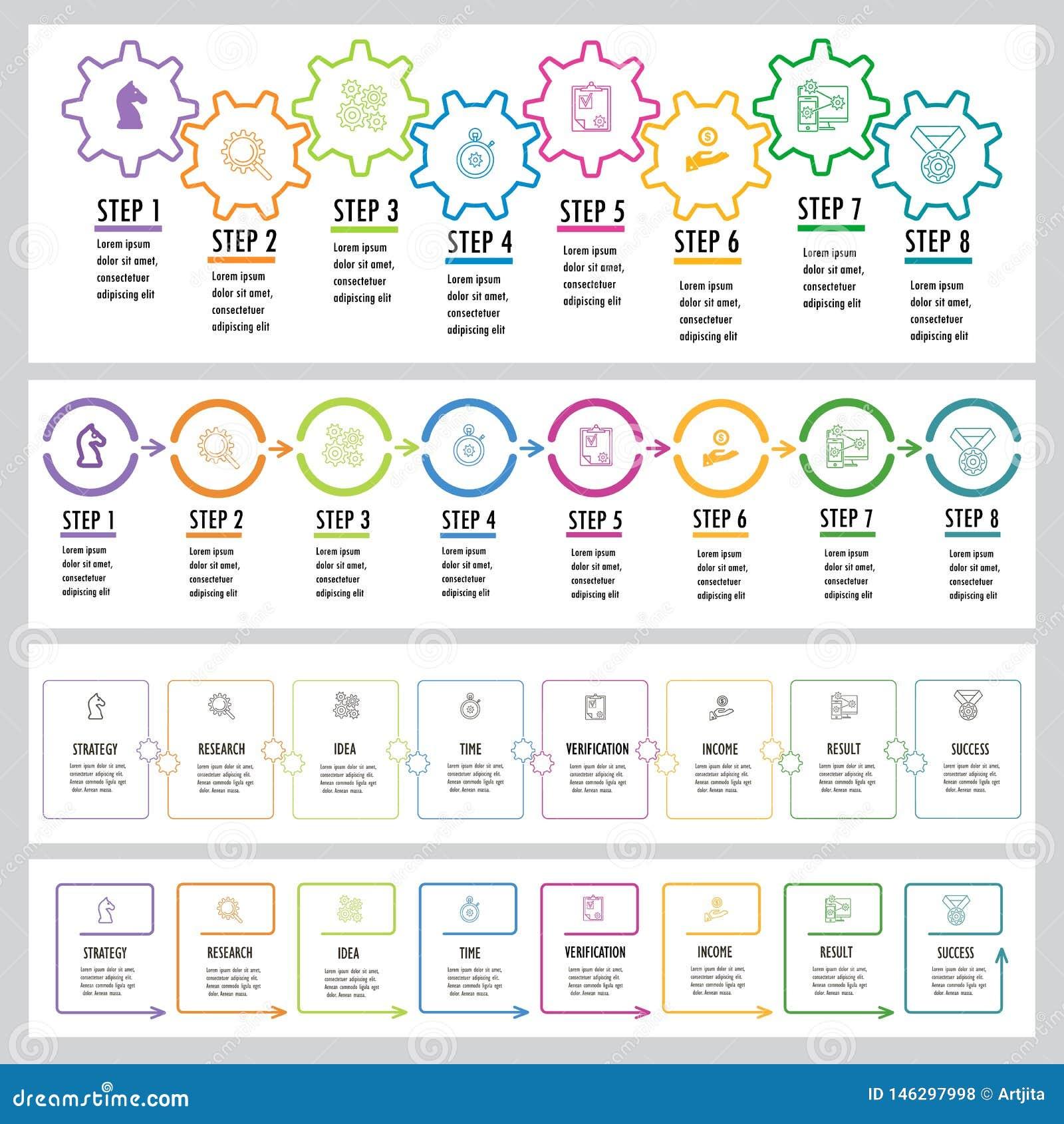 Insieme di Infographics