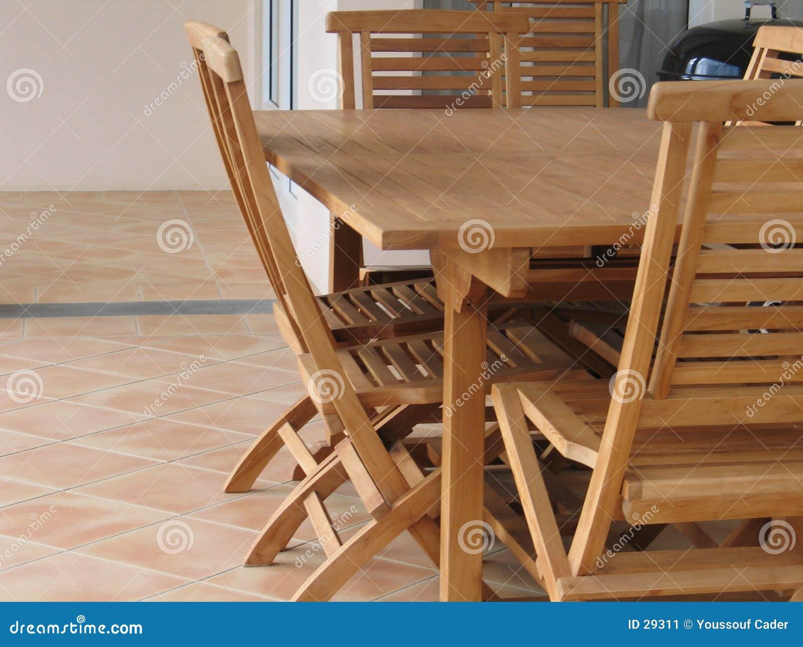 Insieme di legno 3