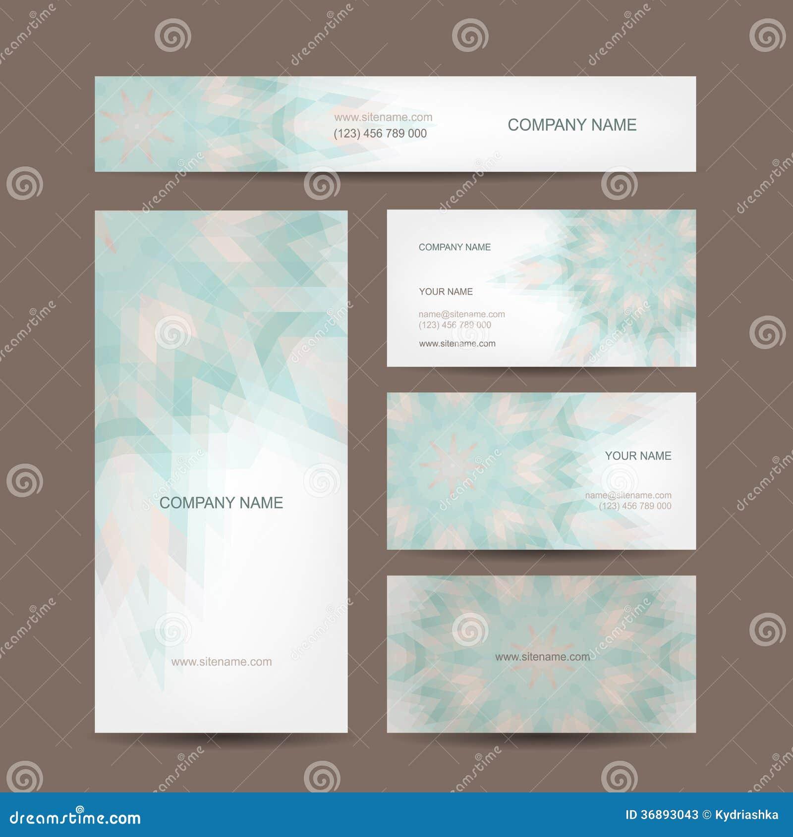 Download Insieme Di Progettazione Di Biglietti Da Visita Creativa Astratta Illustrazione Vettoriale - Illustrazione di corporativo, marca: 36893043