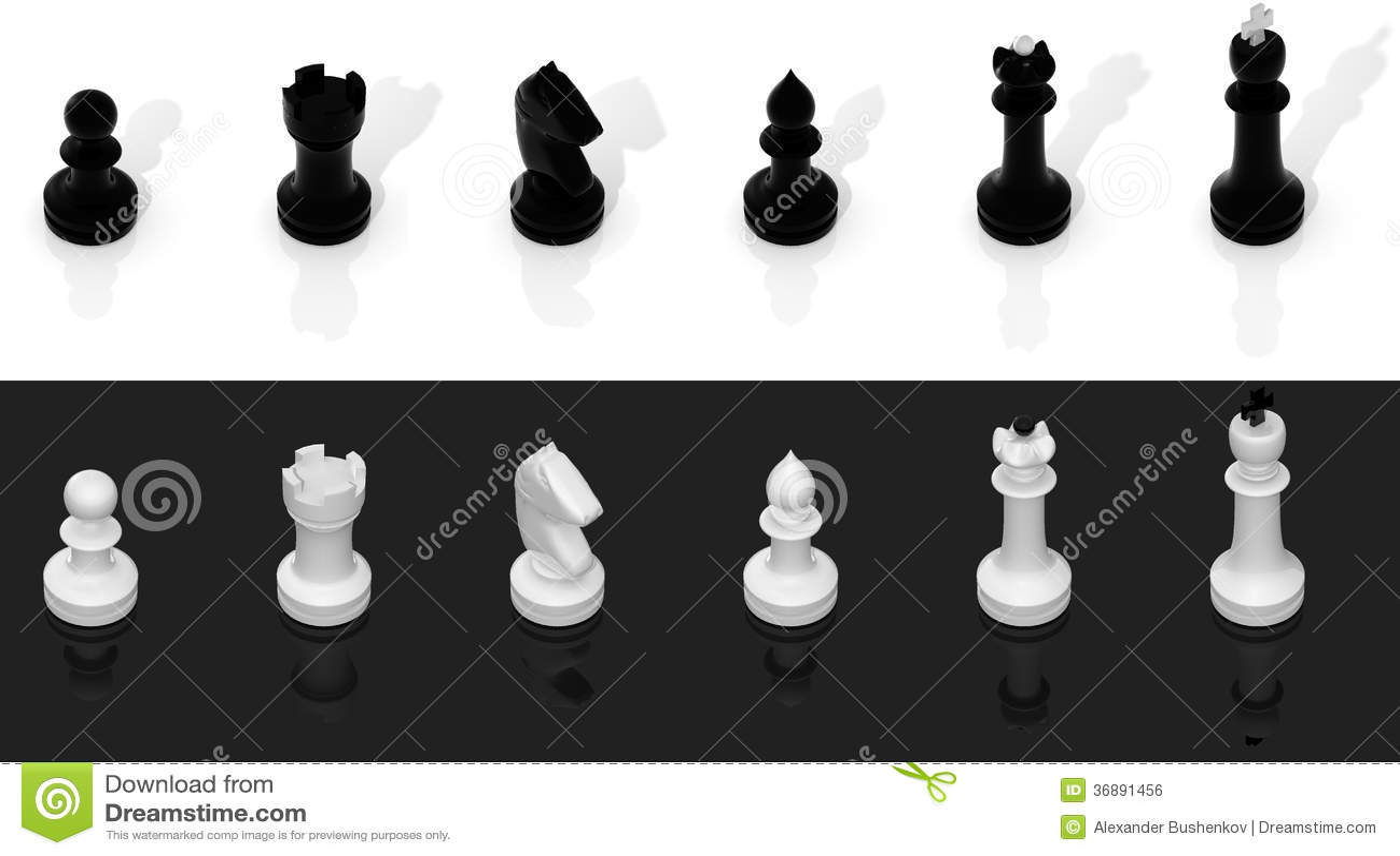 Download Insieme di scacchi illustrazione di stock. Illustrazione di concorrenza - 36891456