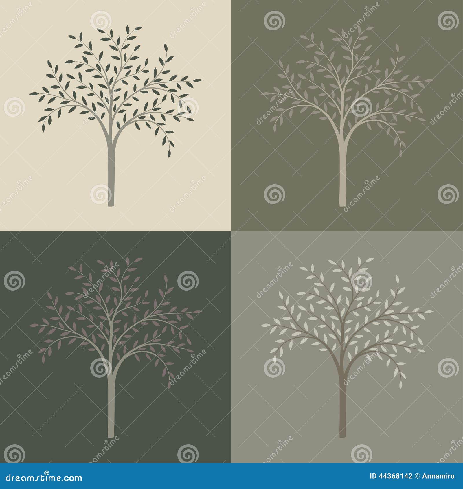 Insieme di vettore degli alberi