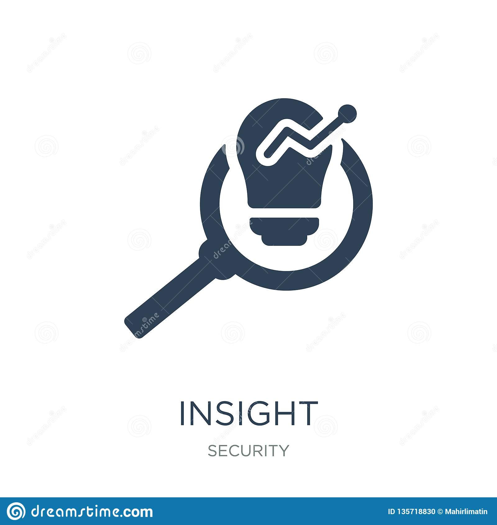 insight icon in trendy design style. insight icon isolated on white background. insight vector icon simple and modern flat symbol