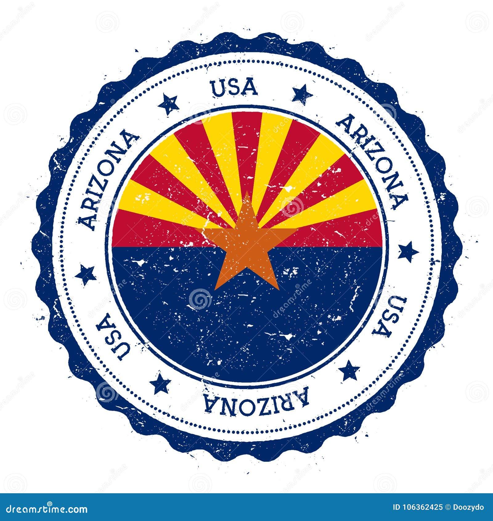 Insigne de drapeau de l Arizona