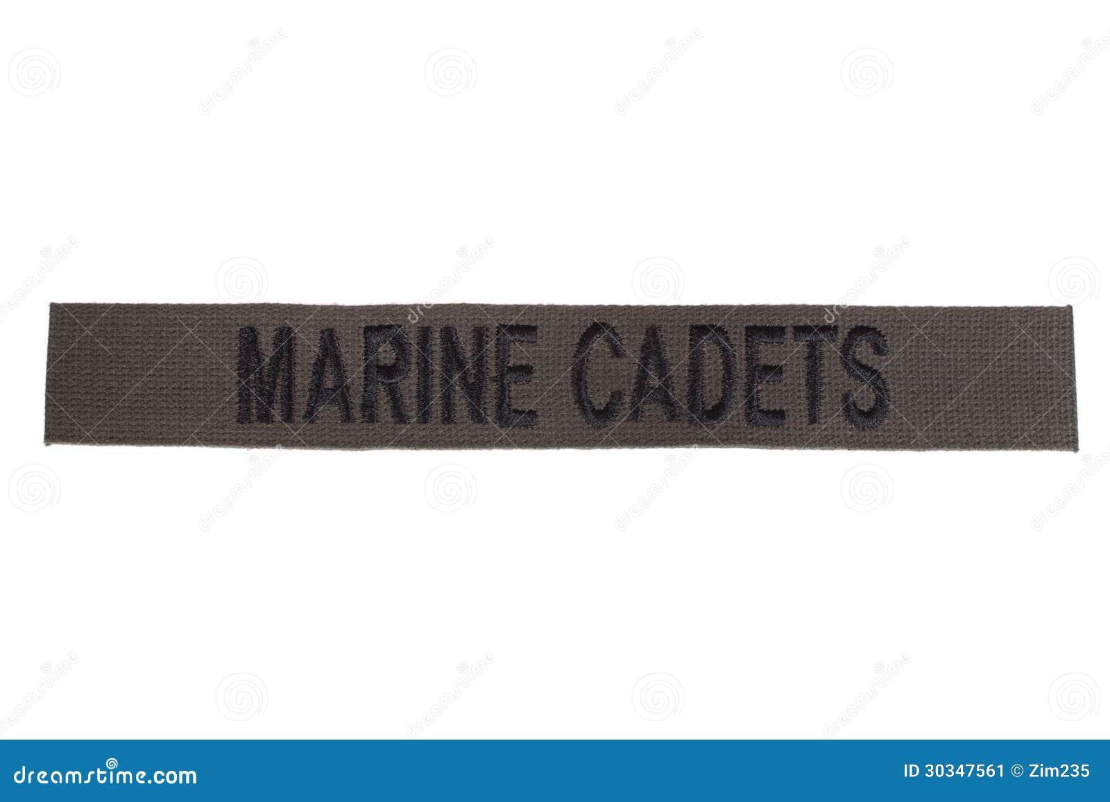 Insigne marin d uniforme de cadets