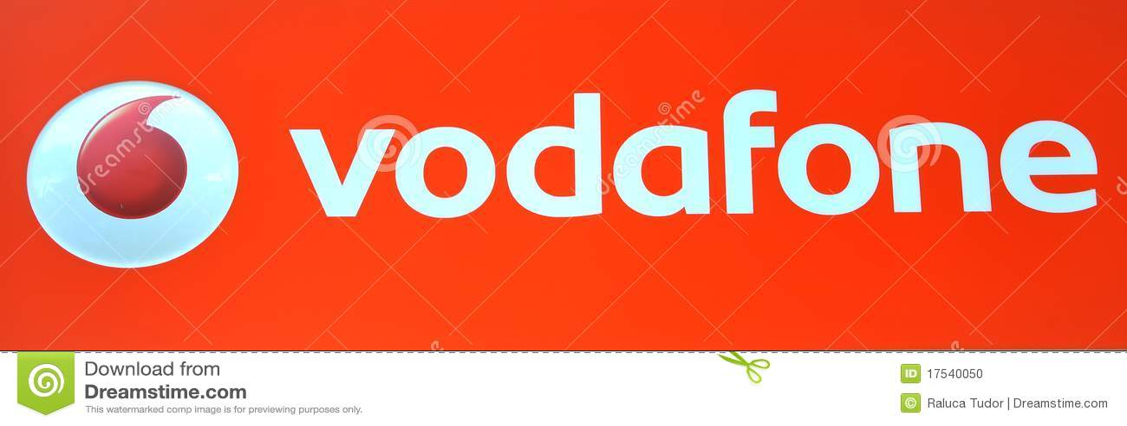 Insignia de Vodafone