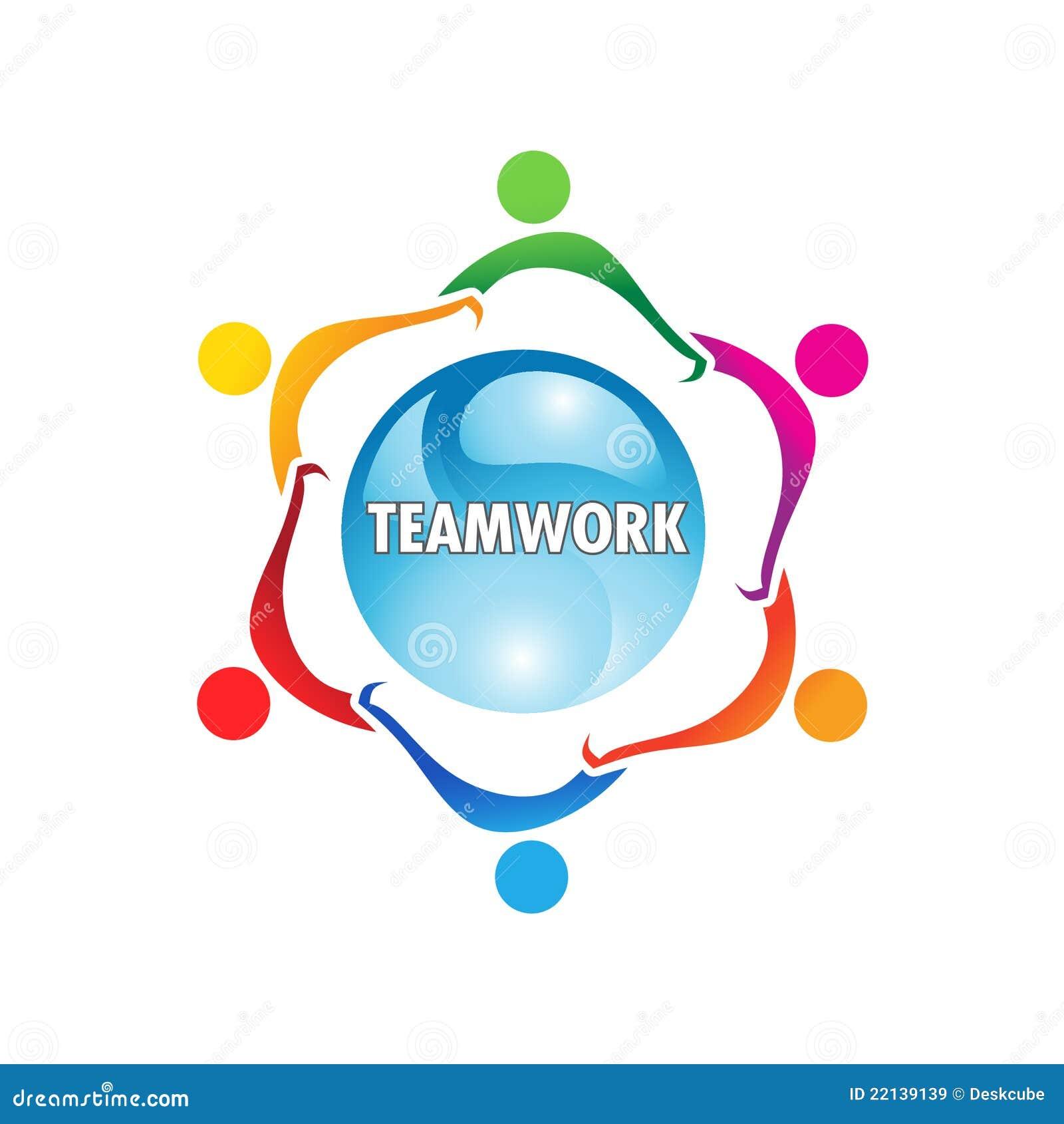 Insignia del trabajo en equipo