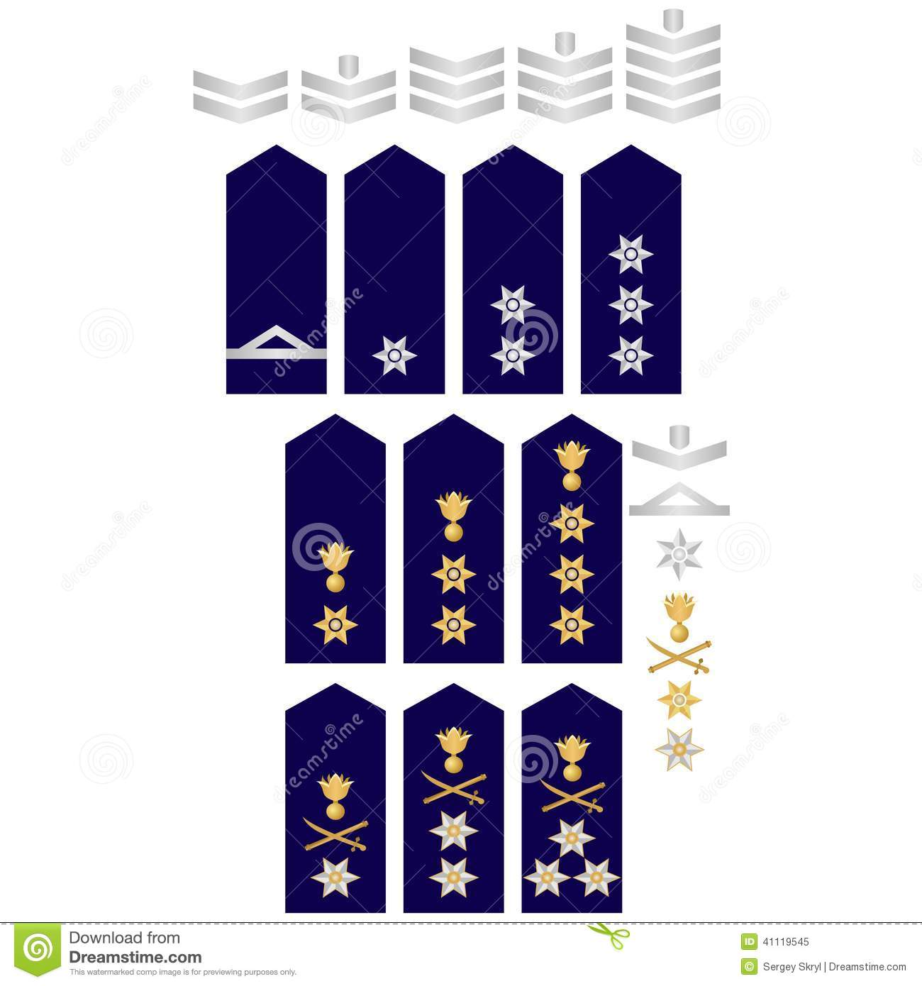 Insignia Of The Greek Police Stock Vector Image 41119545