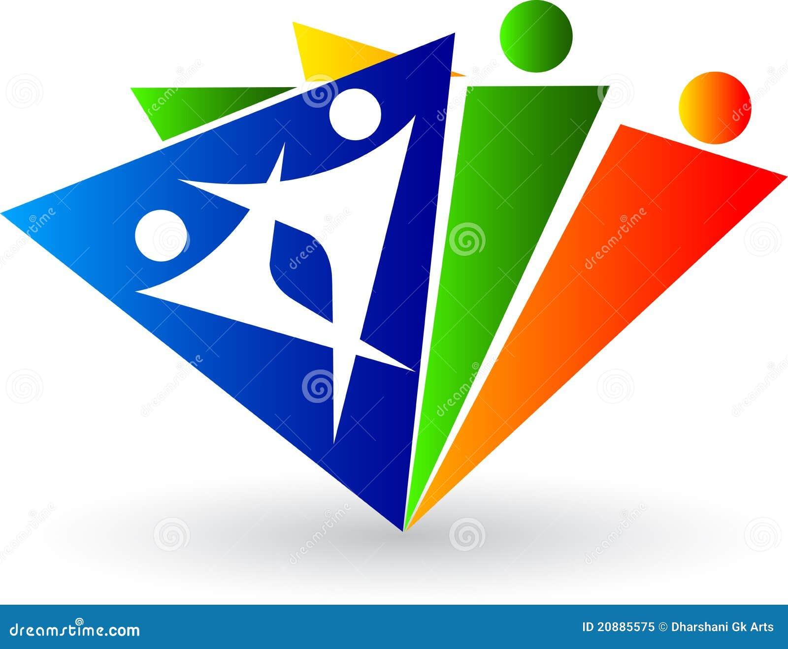 Insignia humana del triángulo