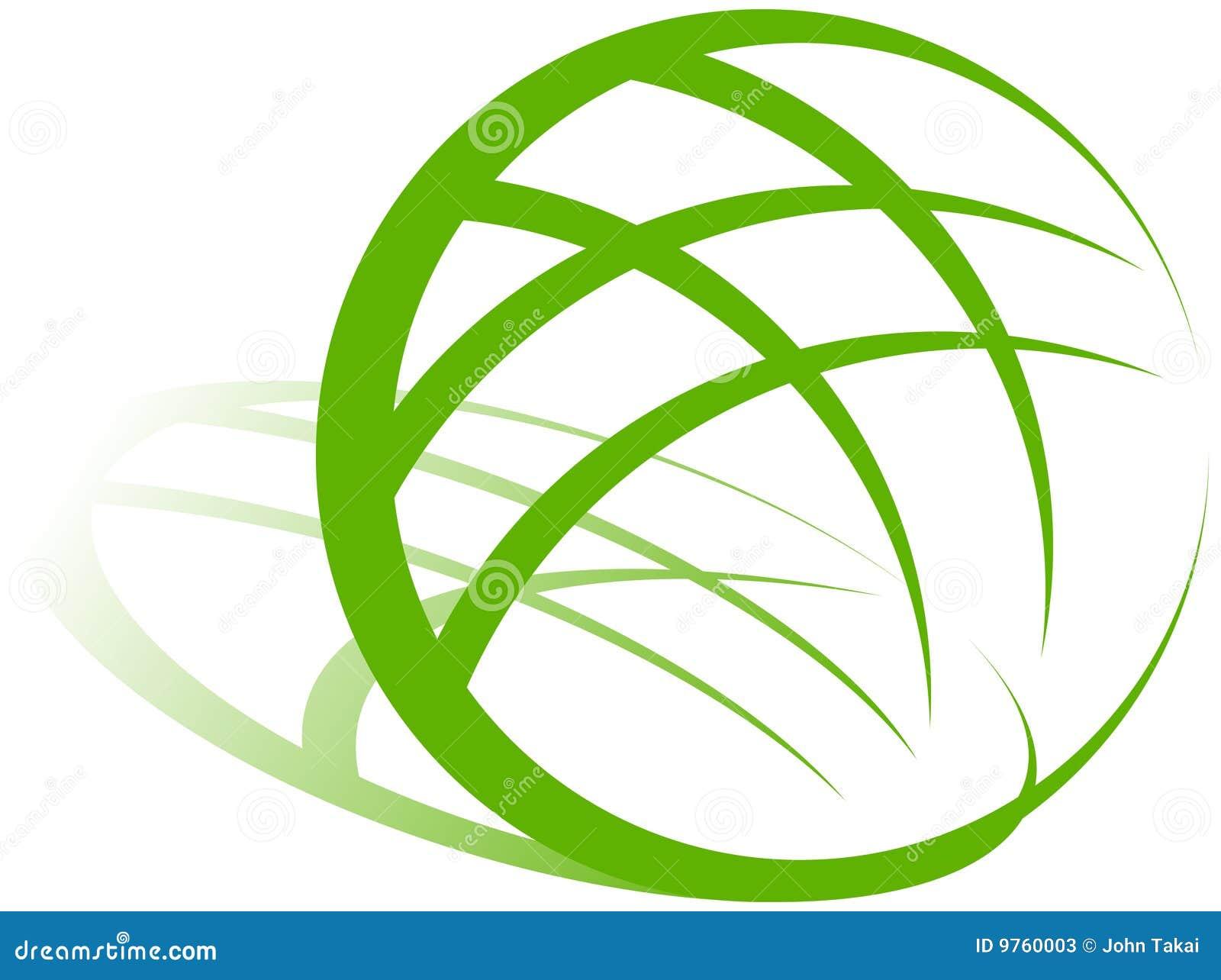 Insignia verde de la tierra