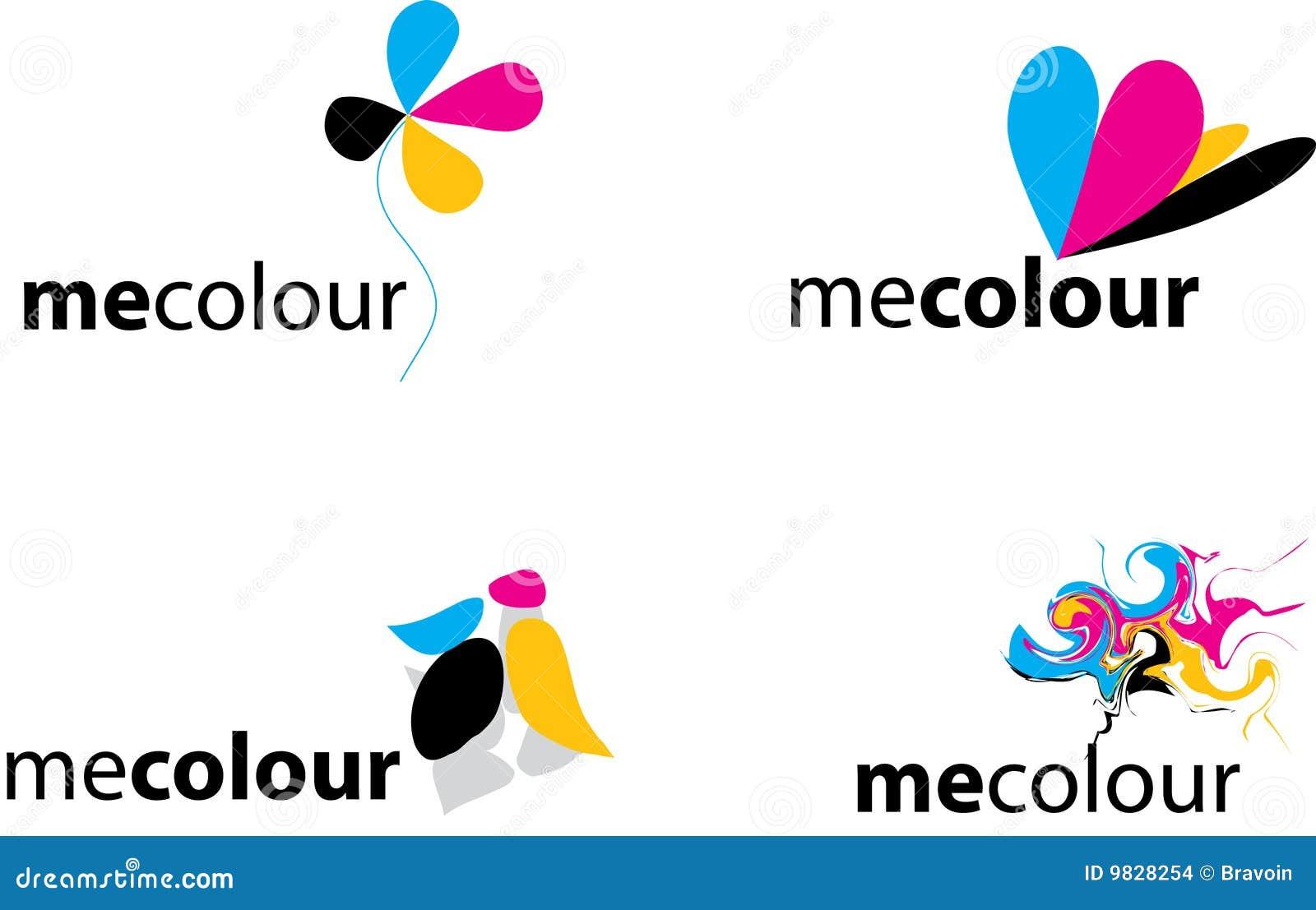 Insignias coloridas