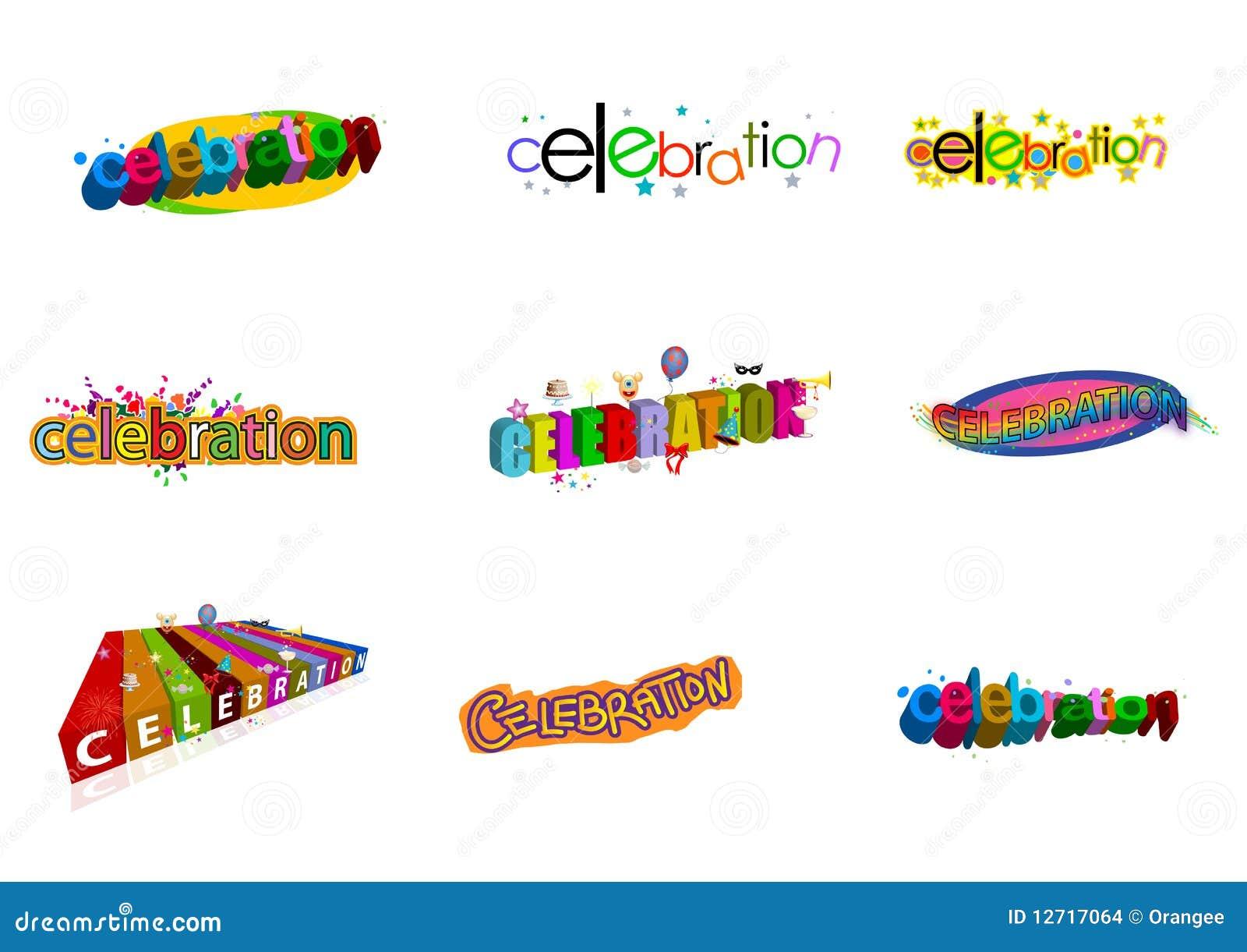 Insignias de la celebración