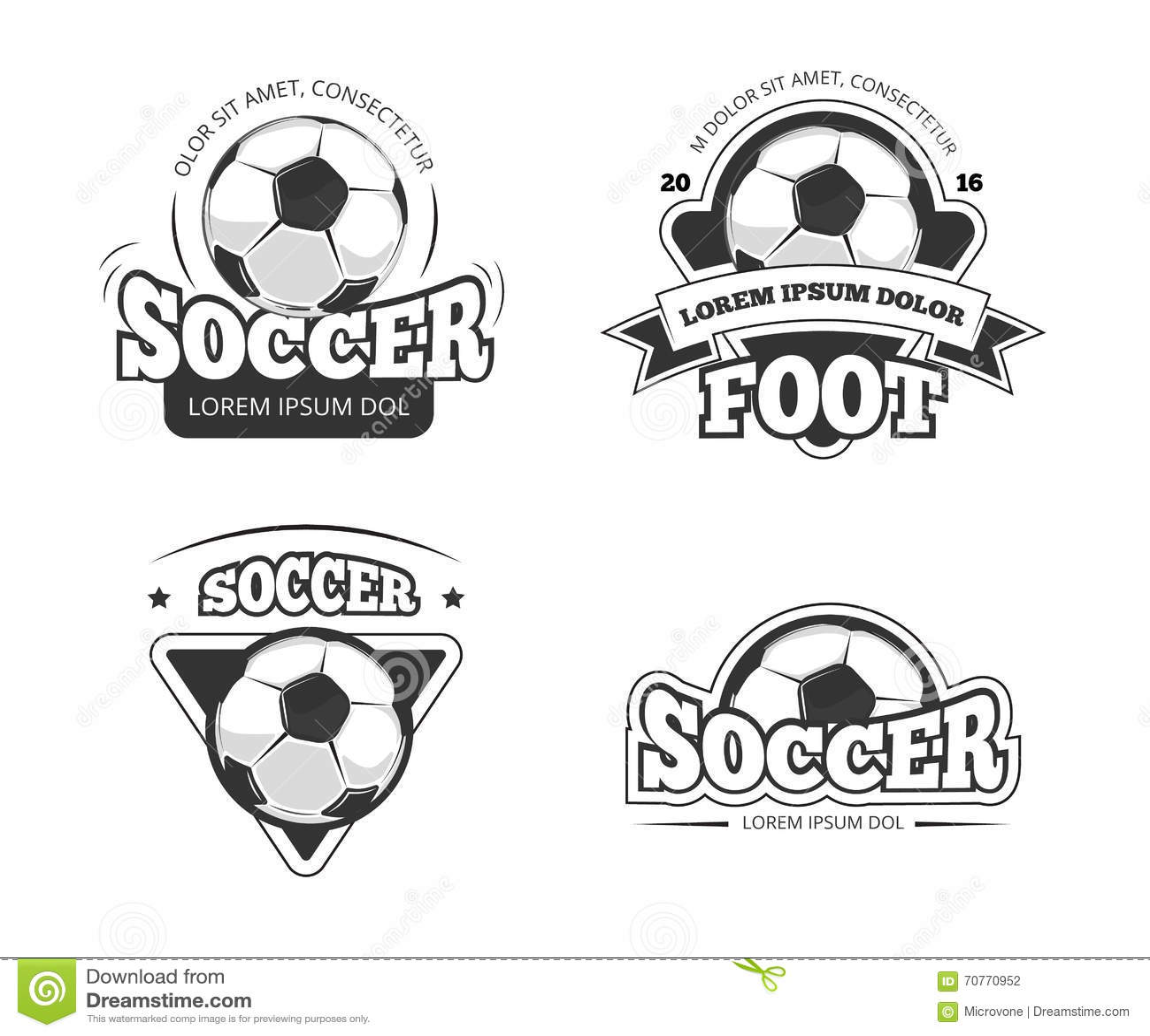 insignias de futbol  insignia de ftbol de diseo de