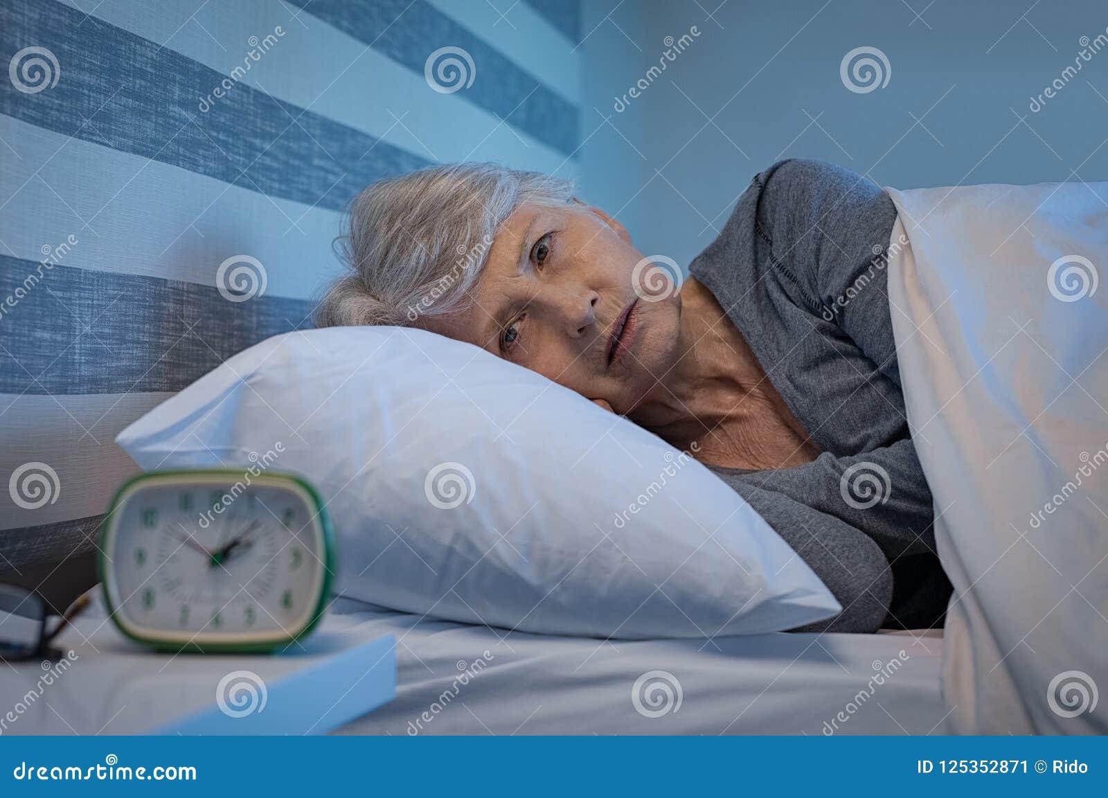 Insomnio en la noche
