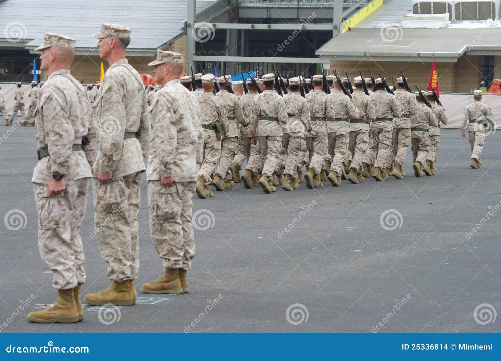 Inspecionando tropas