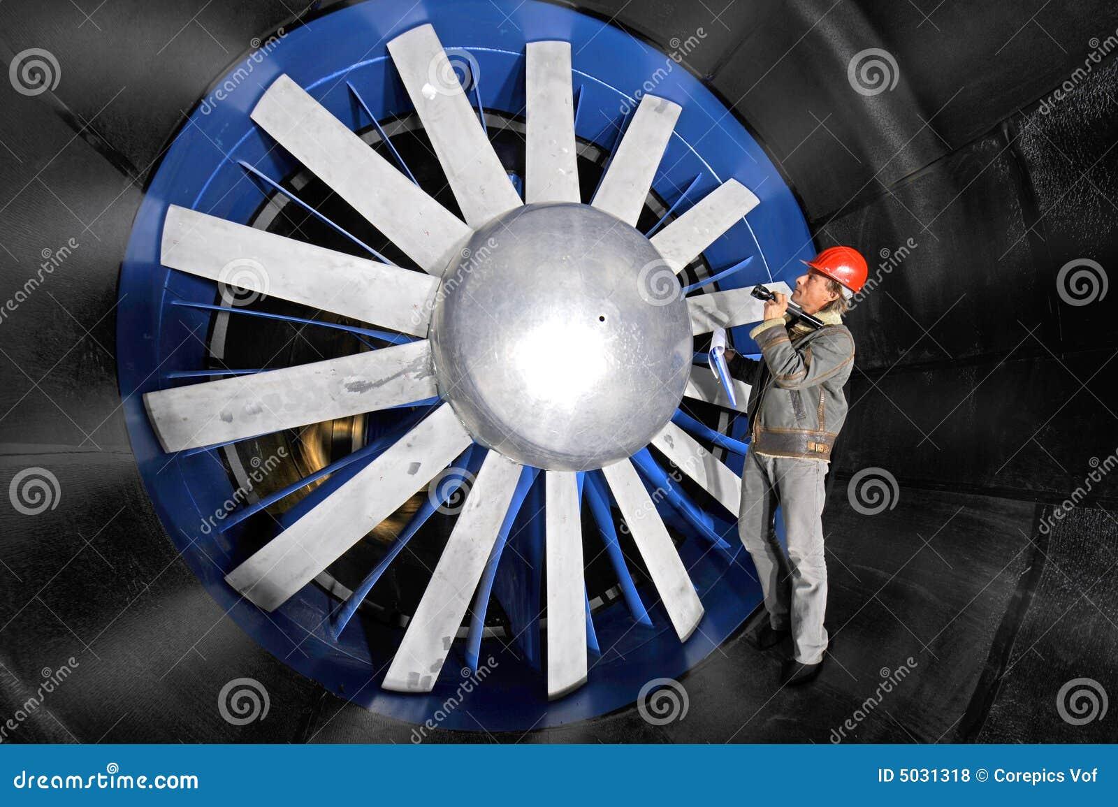 Inspecionando um windtunnel