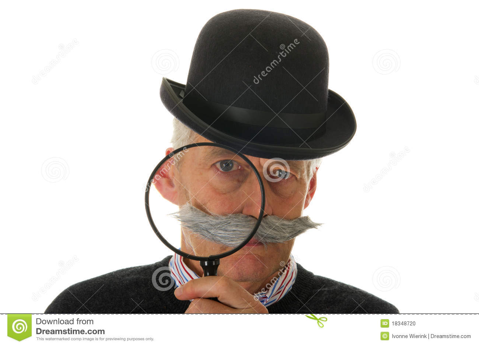 Inspector com magnifier