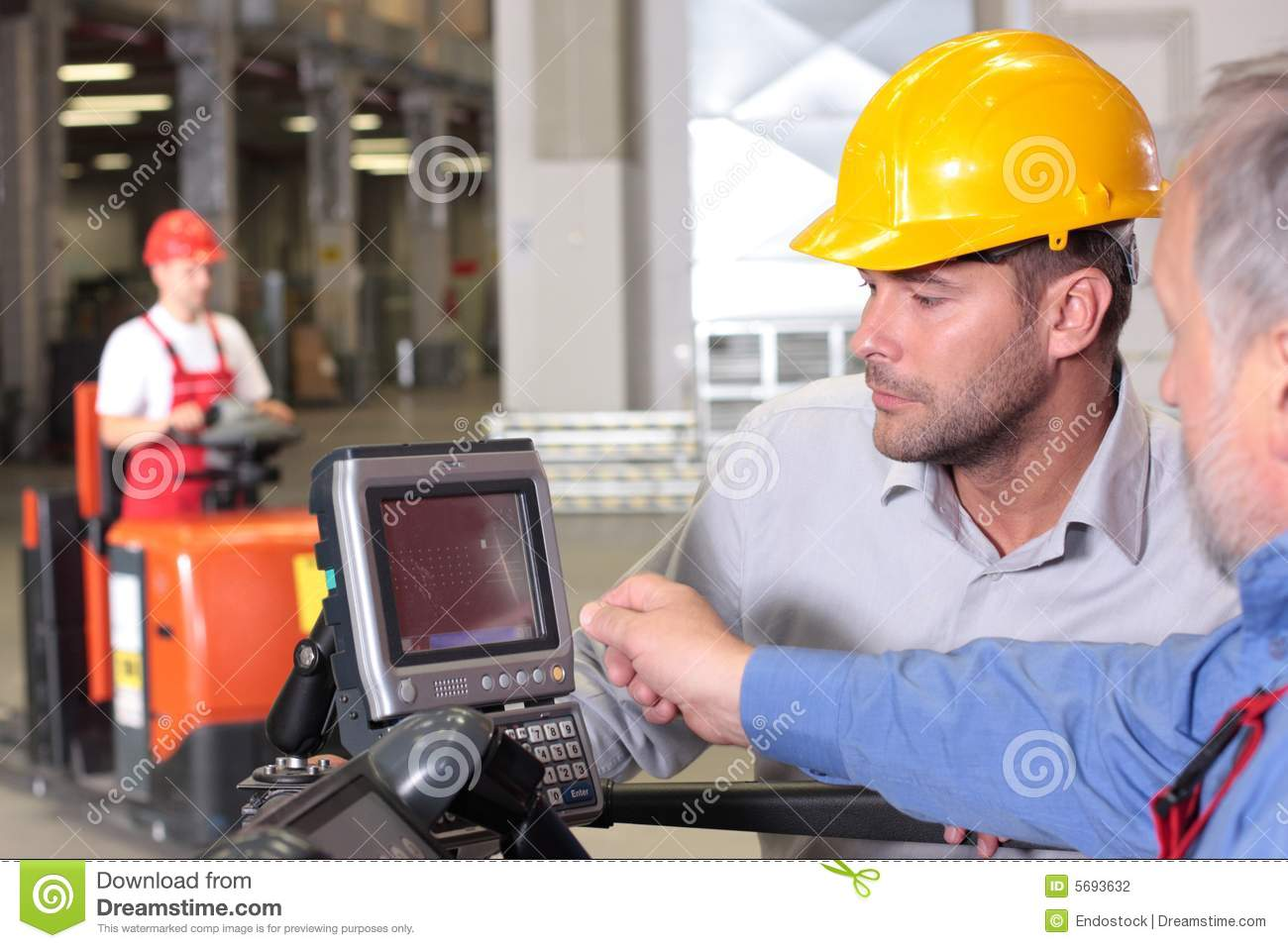 inspector  engineer working with panel stock photography